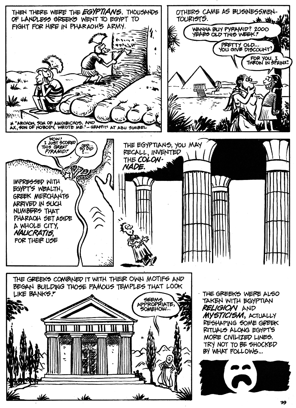 Read online The Cartoon History of the Universe comic -  Issue #5 - 41
