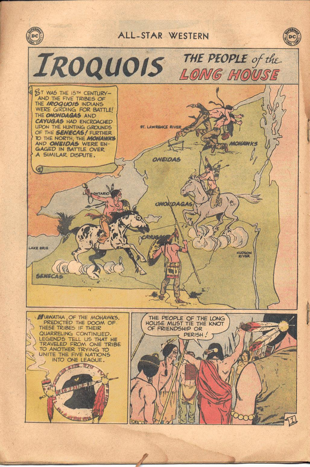 Read online All-Star Western (1951) comic -  Issue #117 - 17