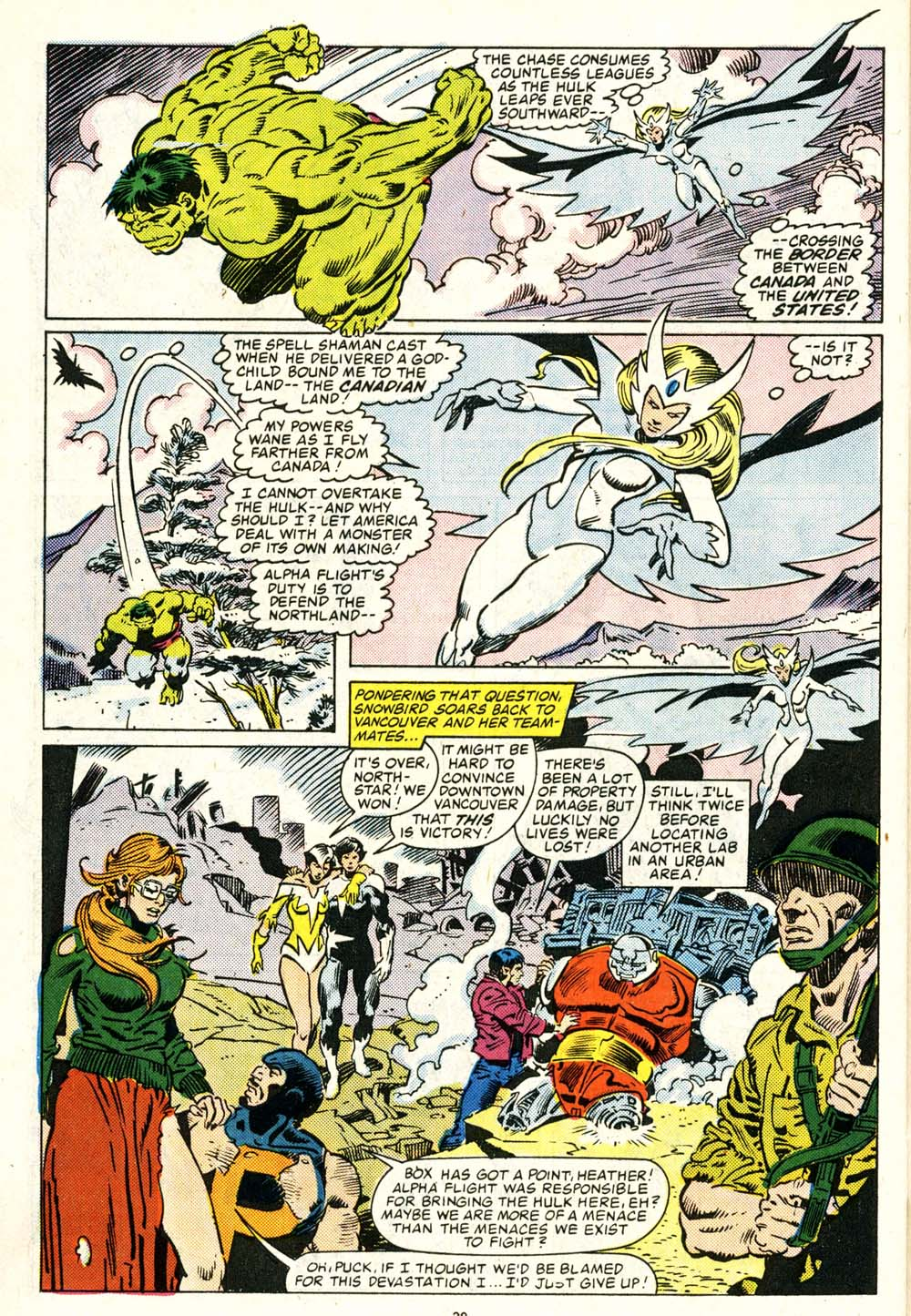 Read online Alpha Flight (1983) comic -  Issue #29 - 21