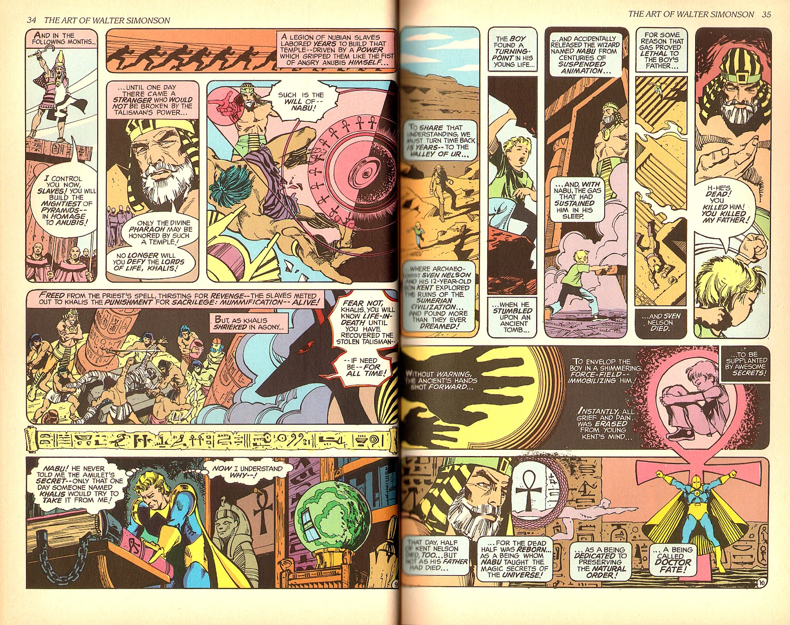 Read online The Art of Walter Simonson comic -  Issue # TPB - 19