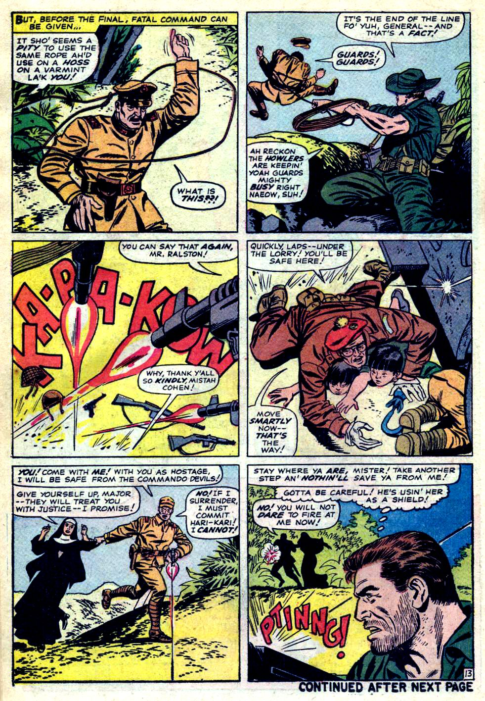 Read online Sgt. Fury comic -  Issue #23 - 18