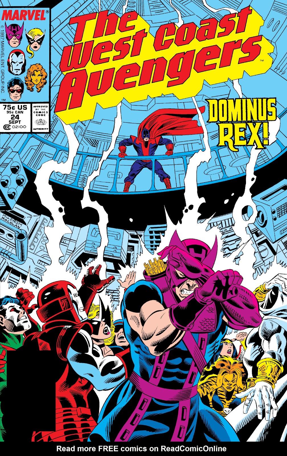 West Coast Avengers (1985) 24 Page 1