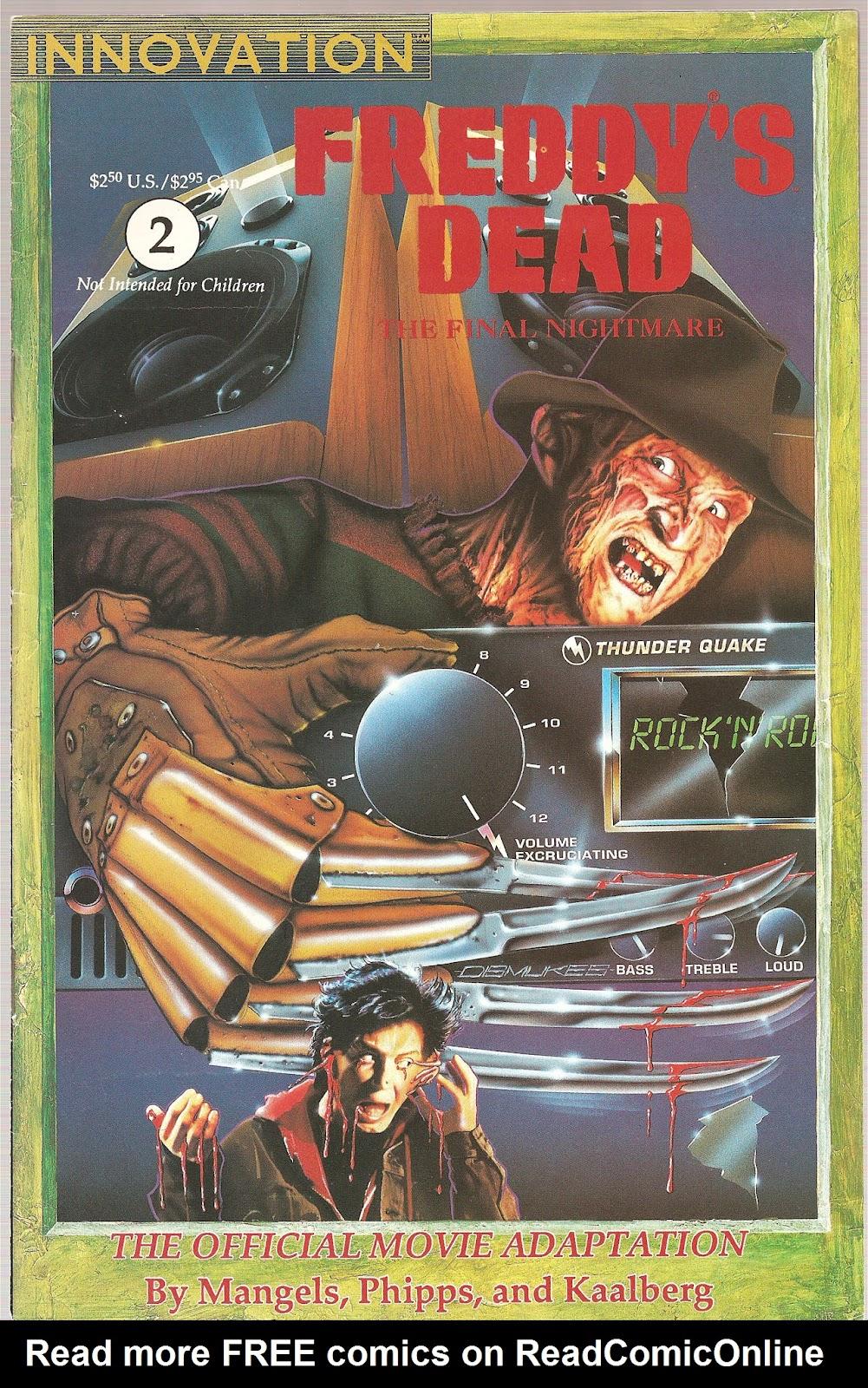 Read online Freddy's Dead: The Final Nightmare comic -  Issue #2 - 1