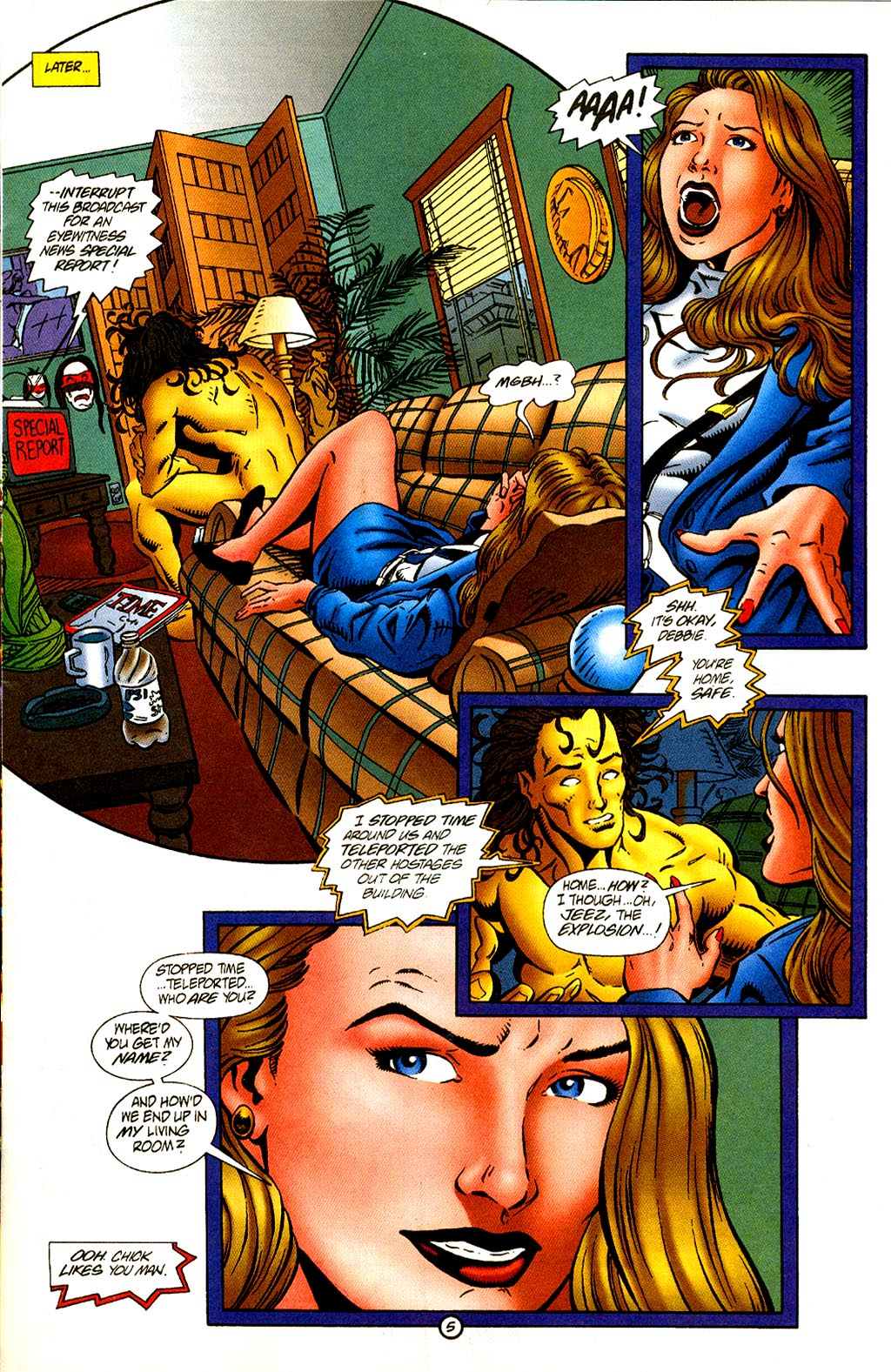 Read online Rune (1995) comic -  Issue #2 - 7