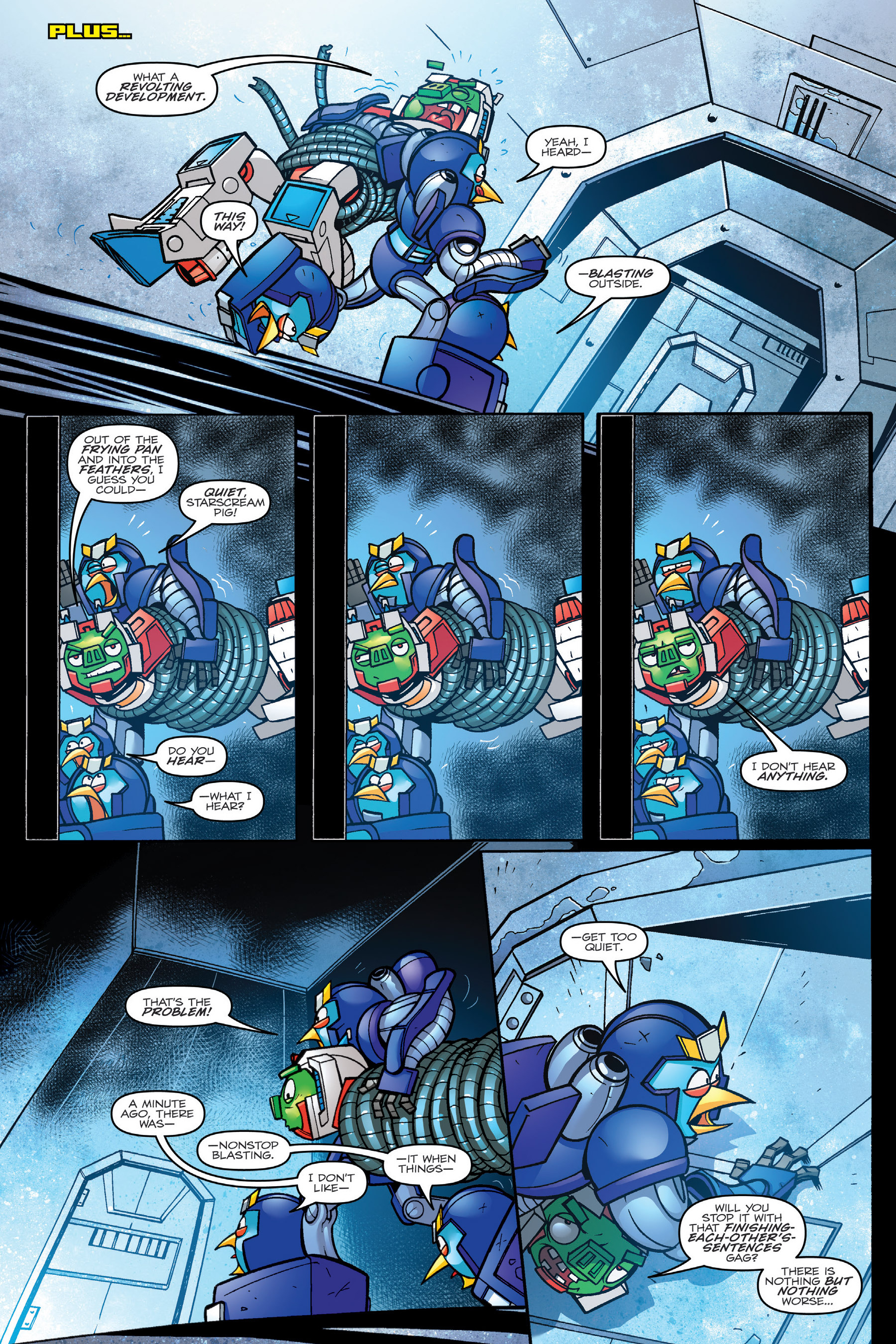 Read online Angry Birds Transformers: Age of Eggstinction comic -  Issue # Full - 63