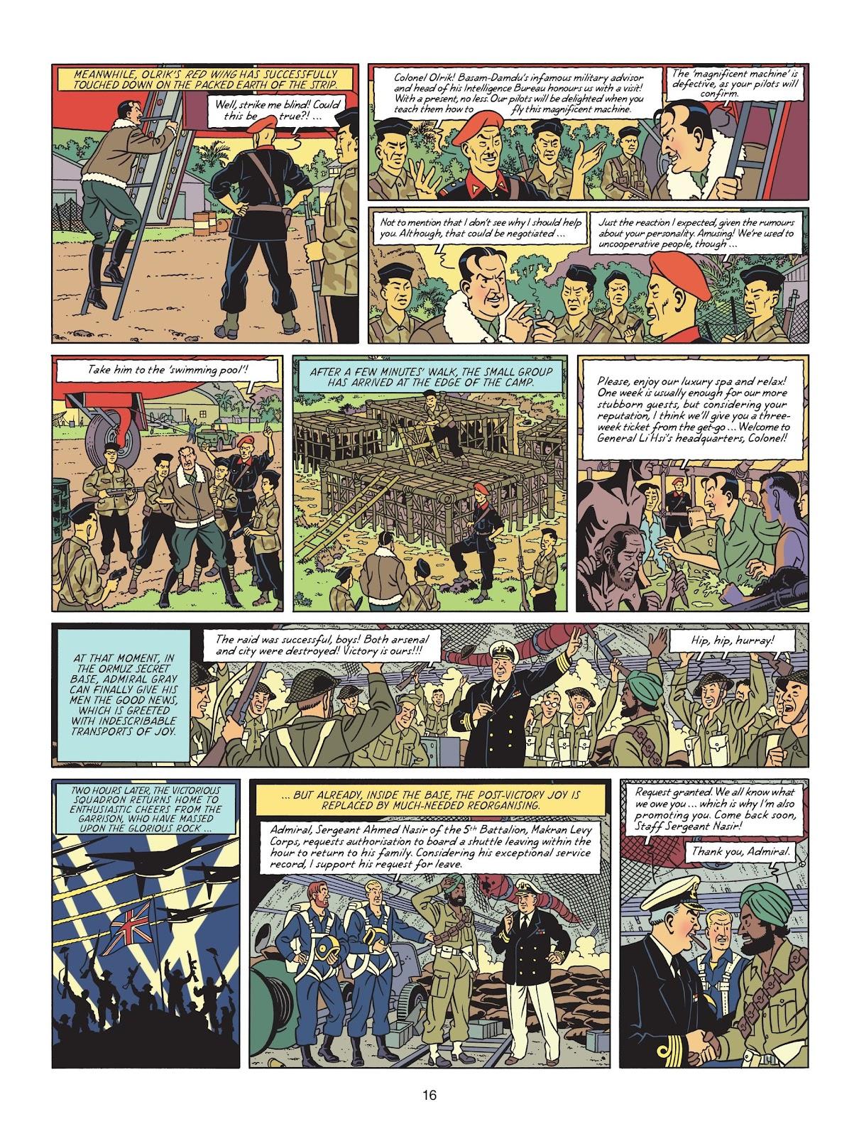 Read online Blake & Mortimer comic -  Issue #25 - 18