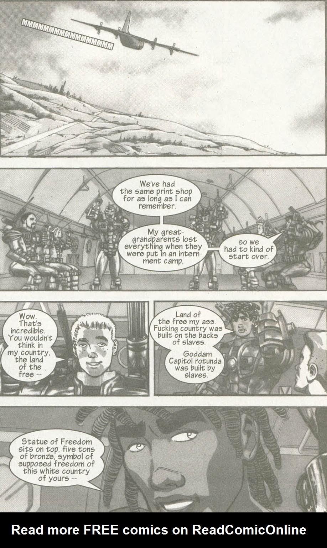 Read online U.S. War Machine comic -  Issue #6 - 4