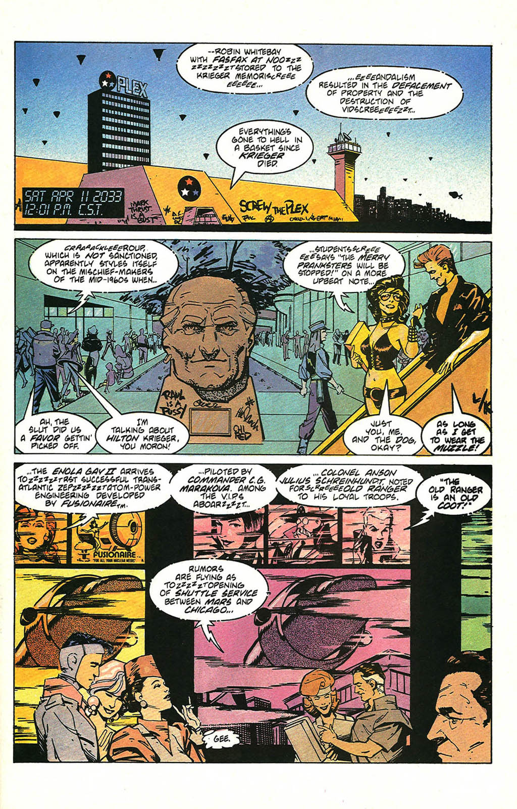 Read online American Flagg! comic -  Issue #47 - 3