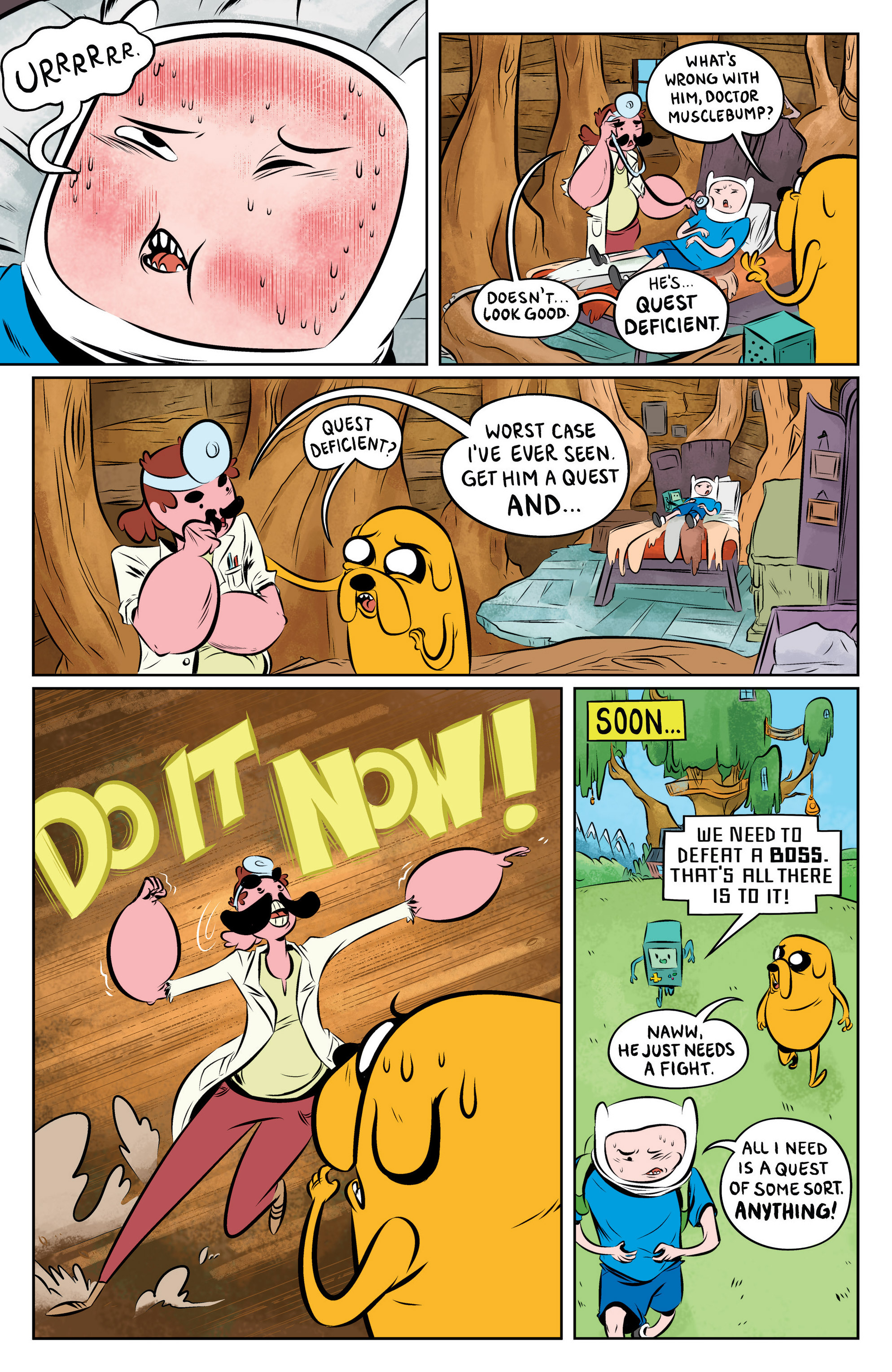 Read online Adventure Time: The Flip Side comic -  Issue #1 - 7