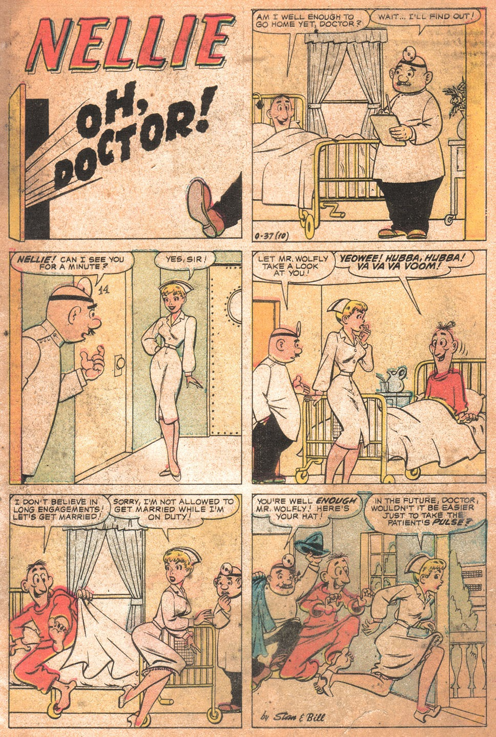 Read online Nellie The Nurse (1957) comic -  Issue # Full - 4