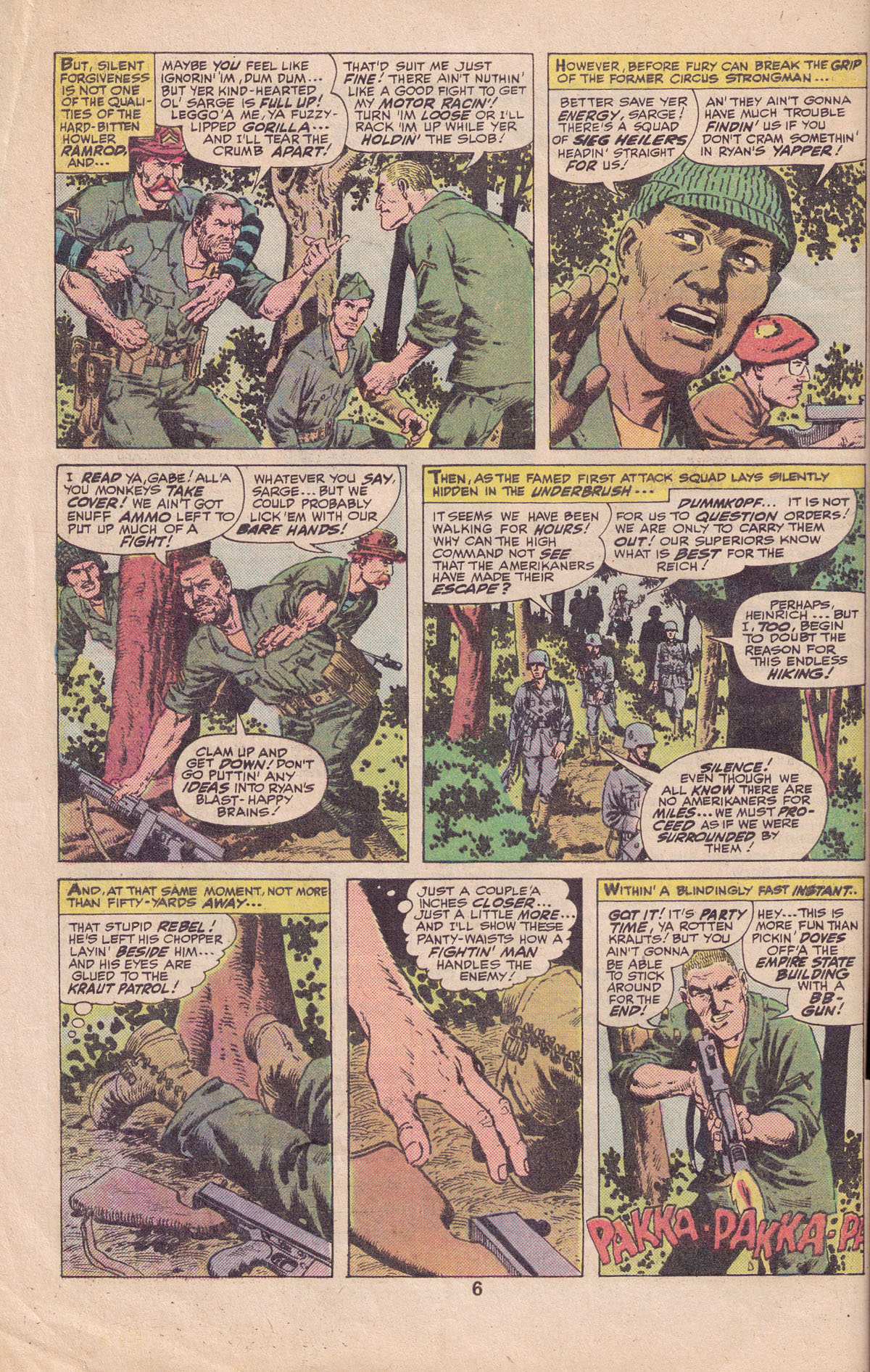 Read online Sgt. Fury comic -  Issue #140 - 8