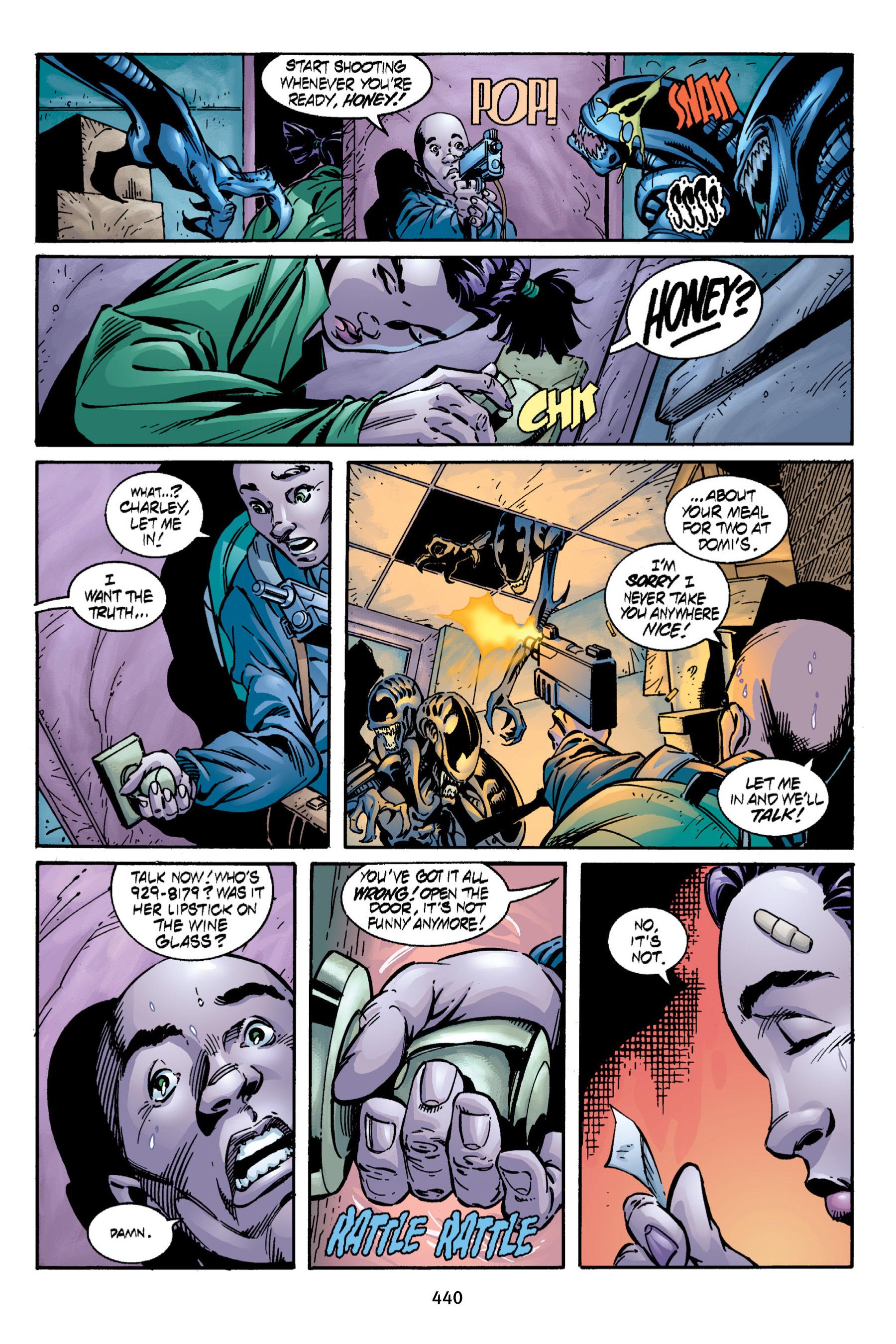 Read online Aliens vs. Predator Omnibus comic -  Issue # _TPB 2 Part 4 - 102