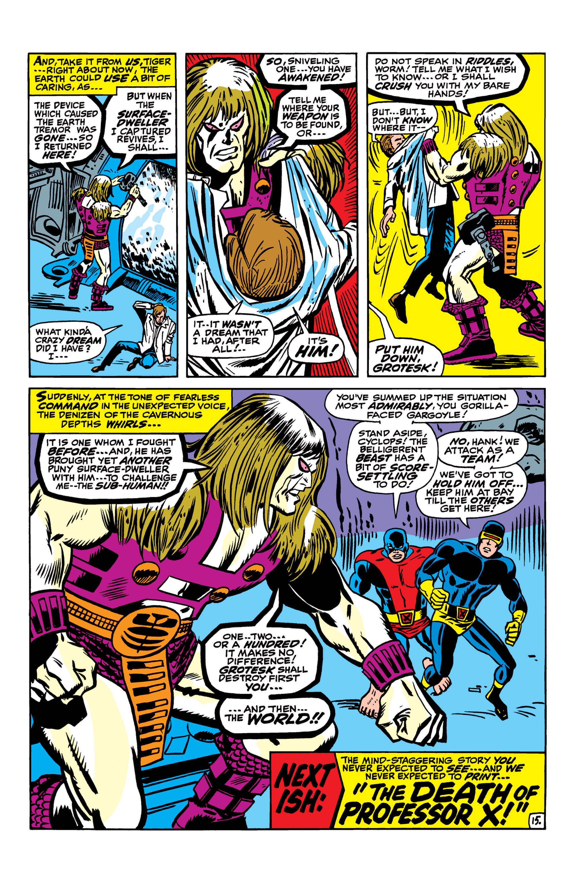 Read online Uncanny X-Men (1963) comic -  Issue #41 - 16
