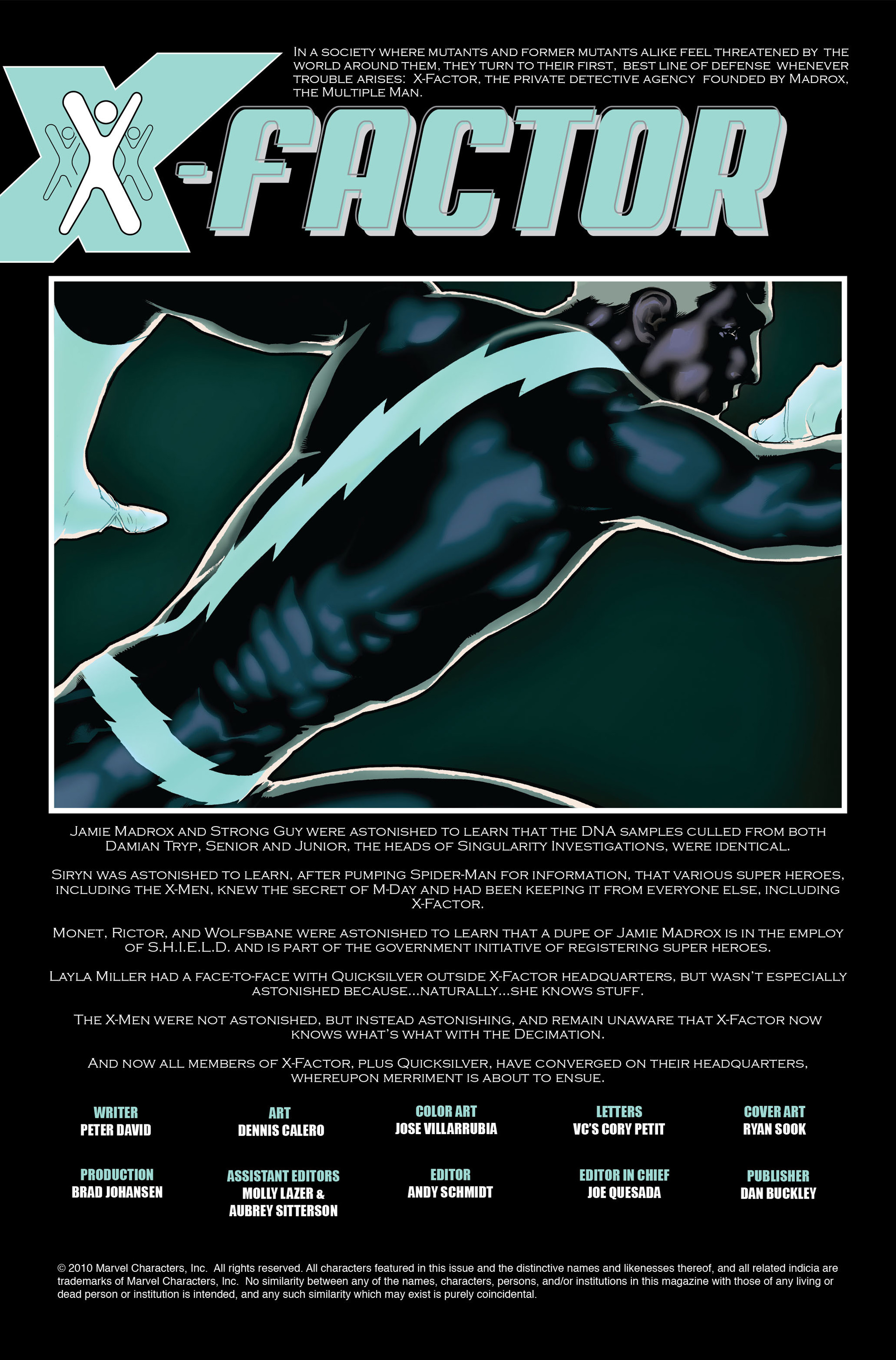 Read online X-Factor (2006) comic -  Issue #9 - 2