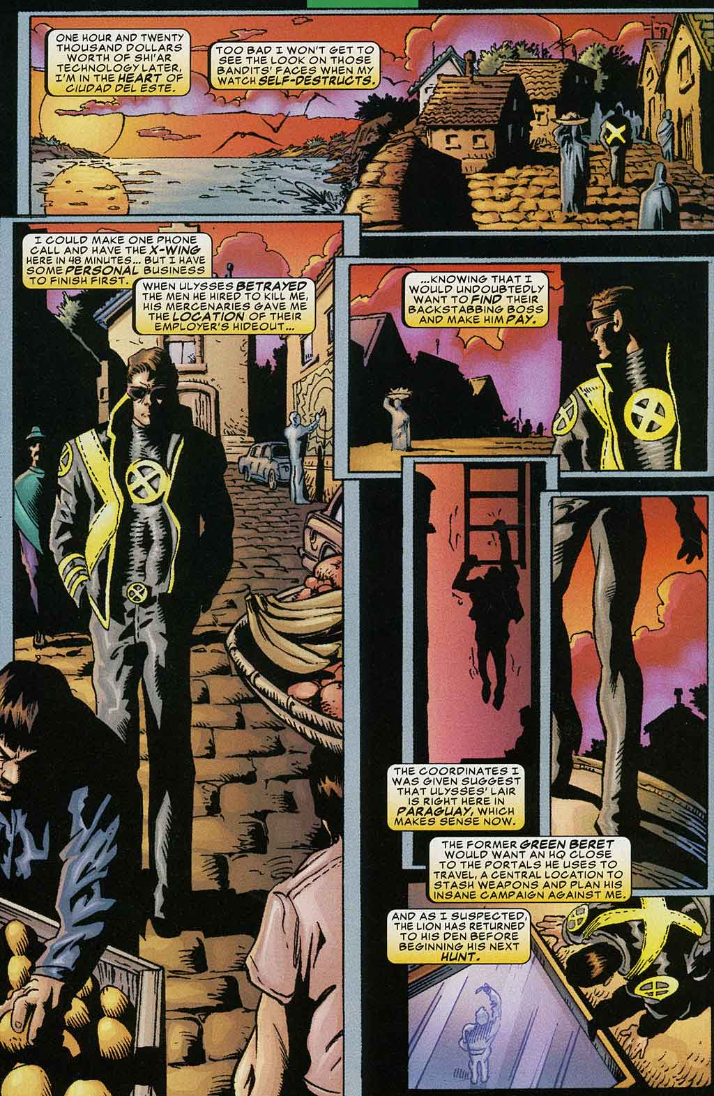 Read online Cyclops (2001) comic -  Issue #4 - 5