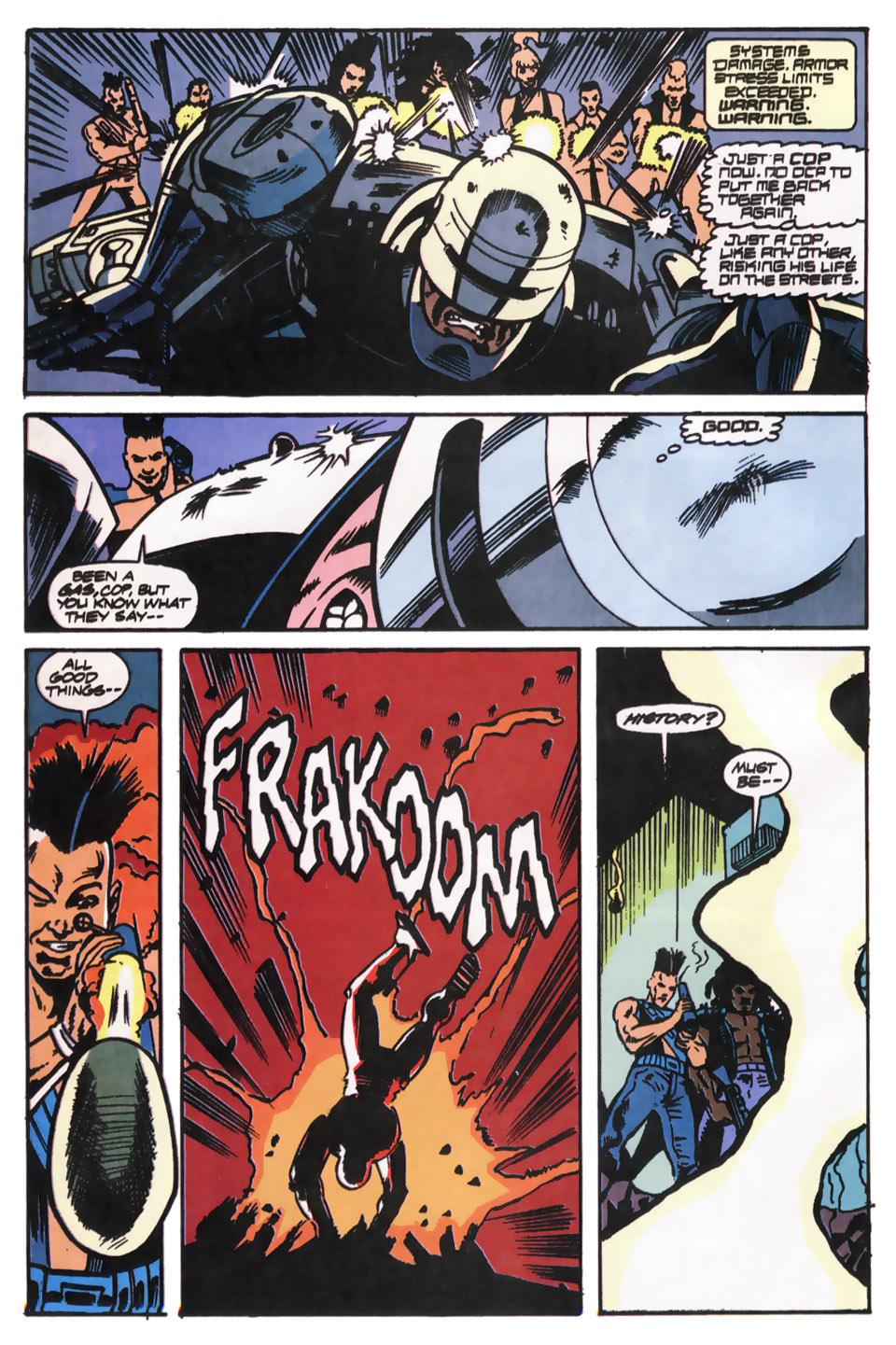 Read online Robocop (1990) comic -  Issue #12 - 19