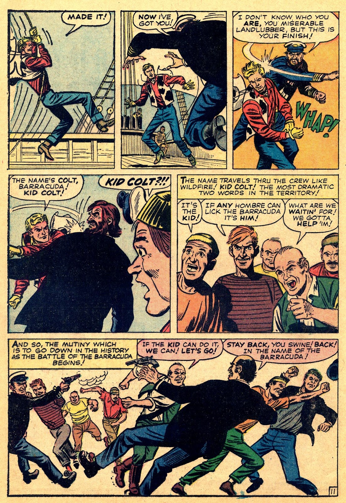 Kid Colt Outlaw issue 109 - Page 16