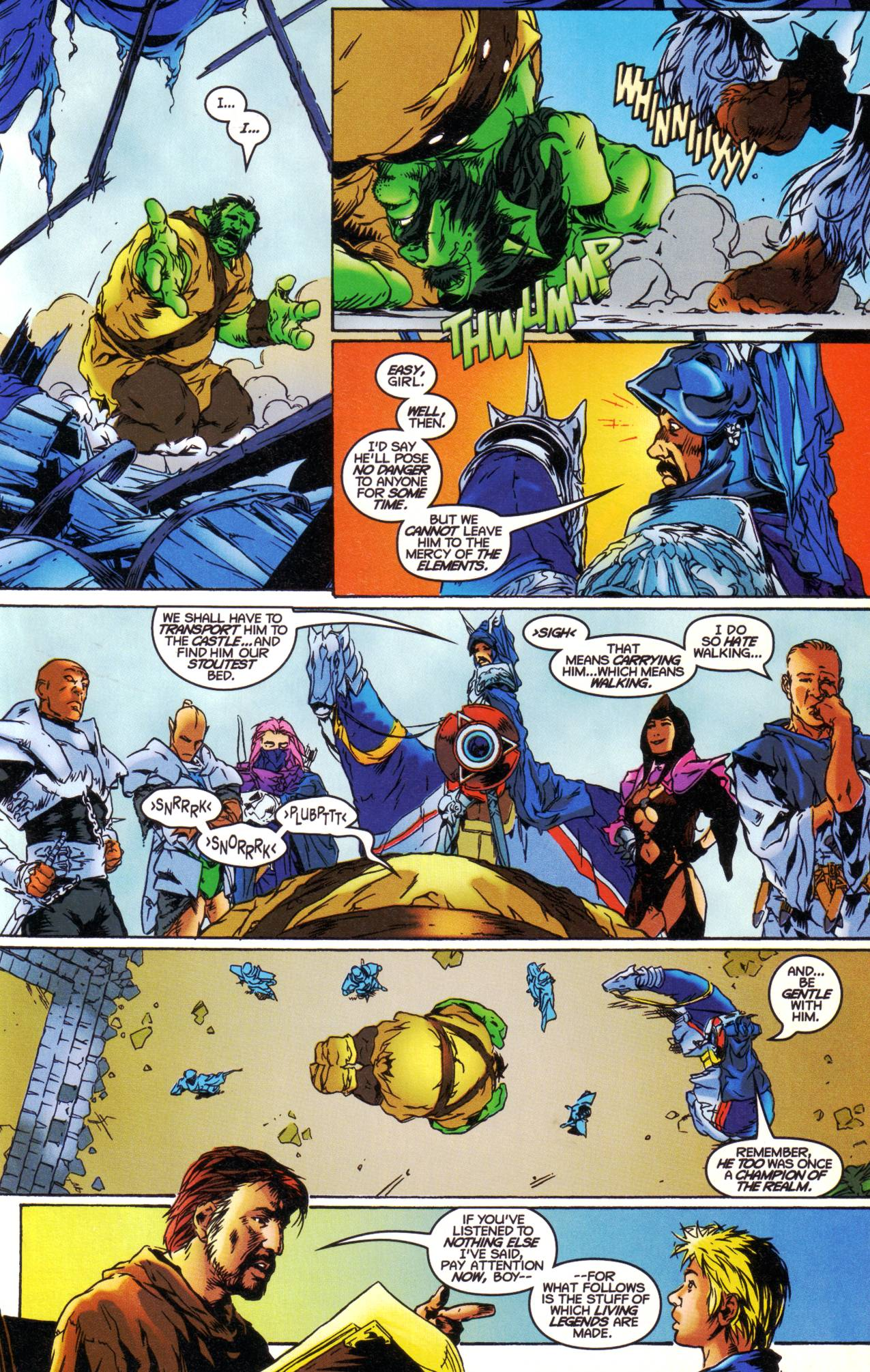 Read online Avataars: Covenant of the Shield comic -  Issue #1 - 13