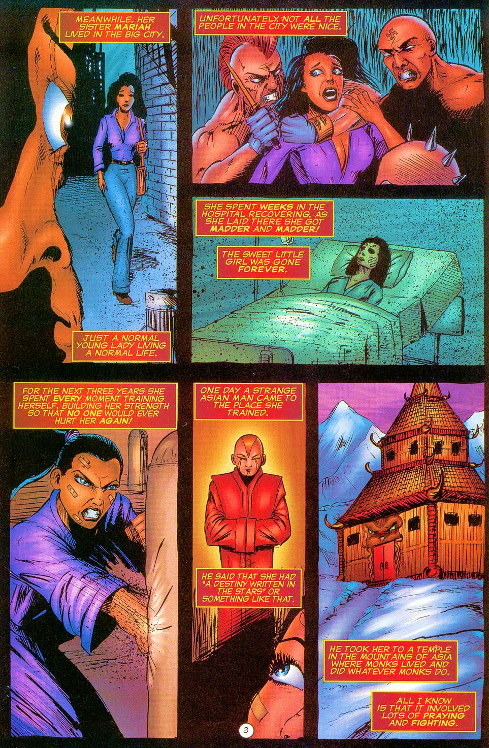 Read online Sisters of Mercy comic -  Issue #0 - 4