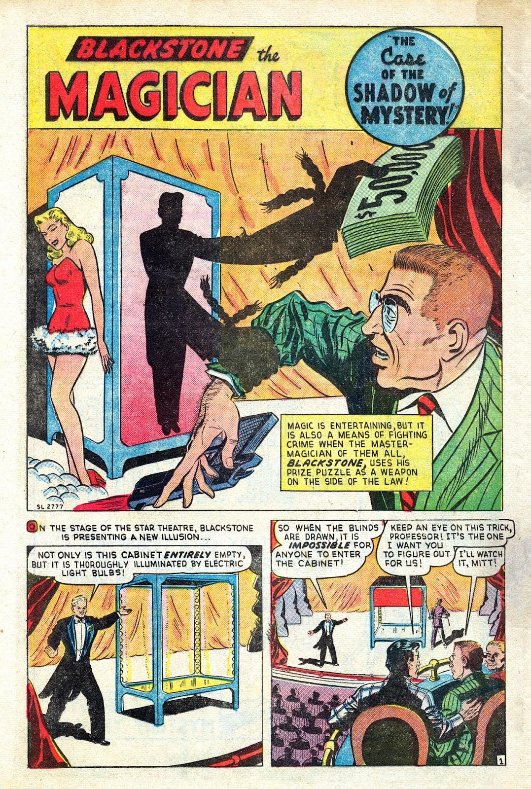 Read online Blackstone the Magician comic -  Issue #4 - 26