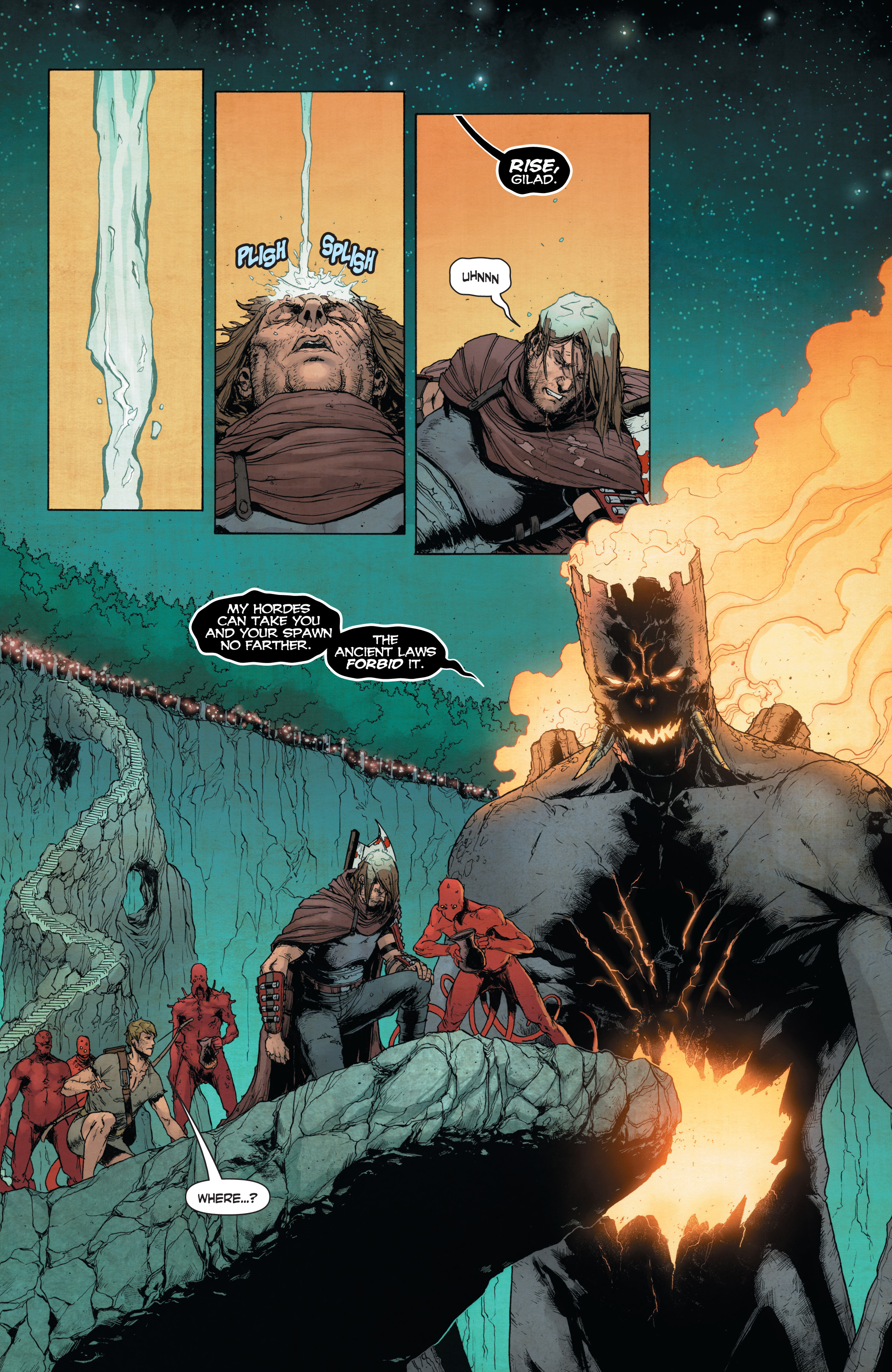 Read online Wrath of the Eternal Warrior comic -  Issue #14 - 16