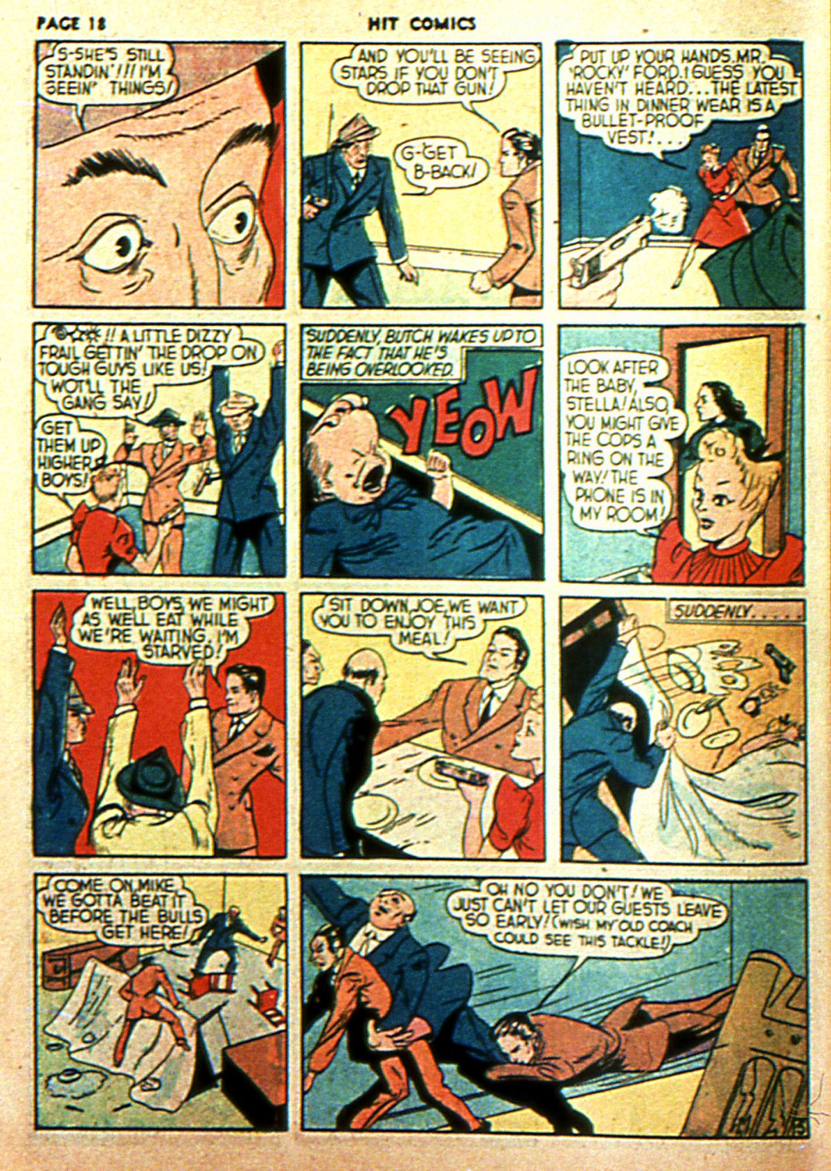 Read online Hit Comics comic -  Issue #2 - 20