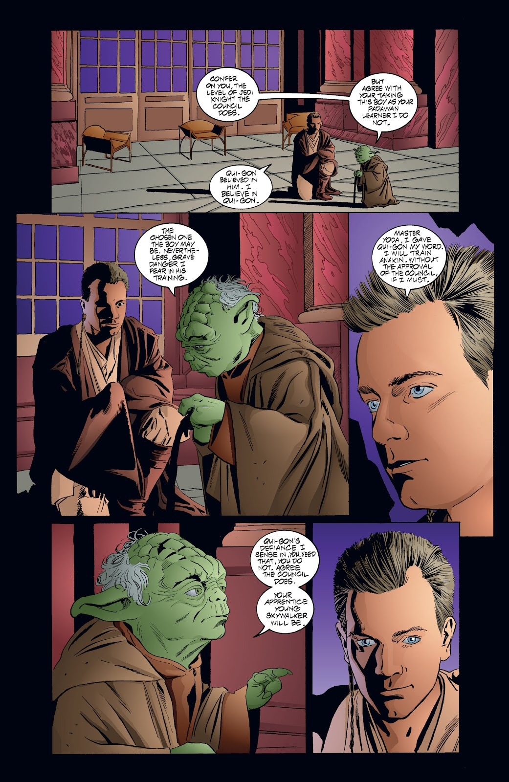 Read online Star Wars Legends: Rise of the Sith - Epic Collection comic -  Issue # TPB 2 (Part 4) - 38