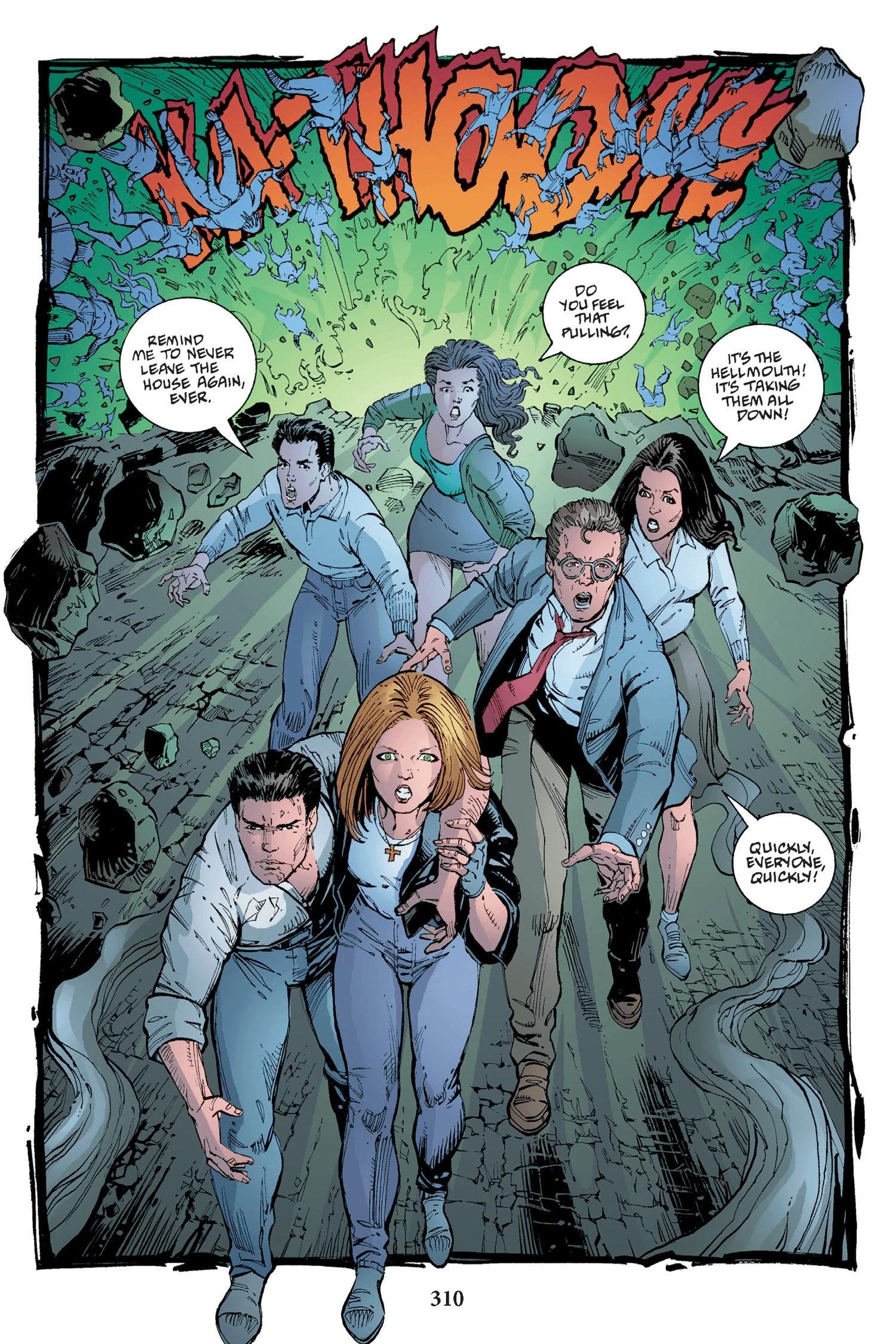 Read online Buffy the Vampire Slayer: Omnibus comic -  Issue # TPB 2 - 302