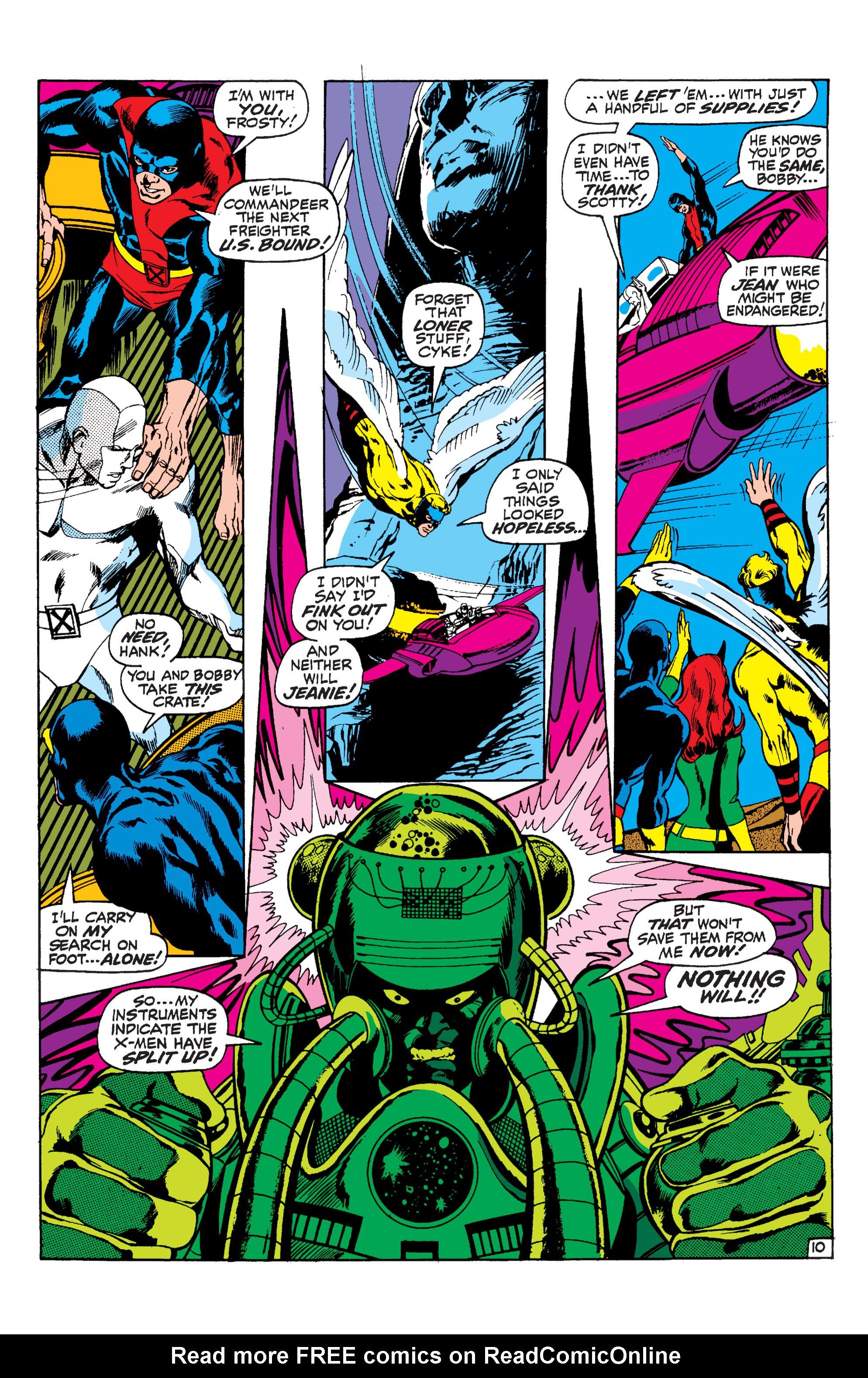 Uncanny X-Men (1963) 57 Page 10