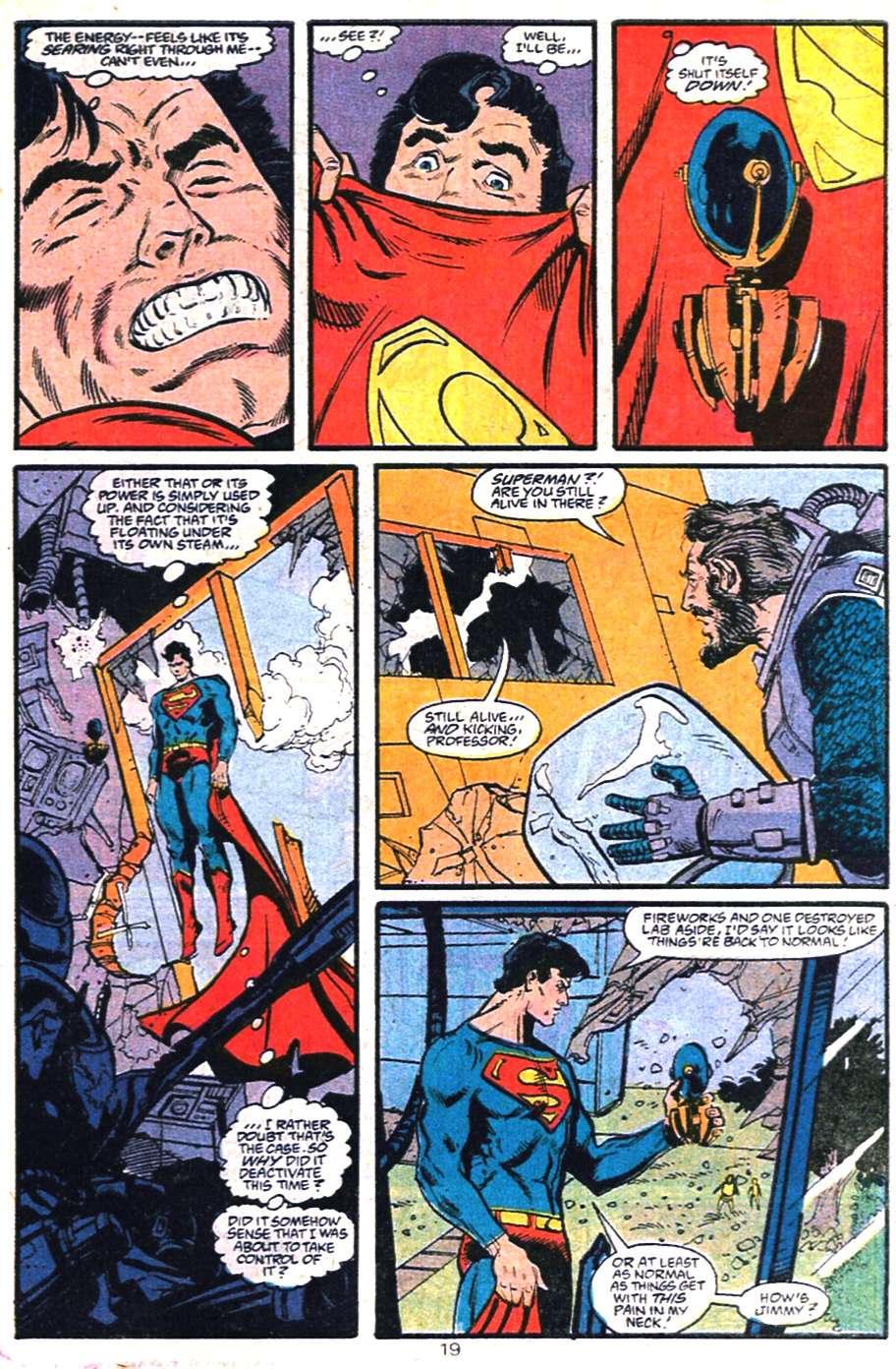 Read online Adventures of Superman (1987) comic -  Issue #459 - 20