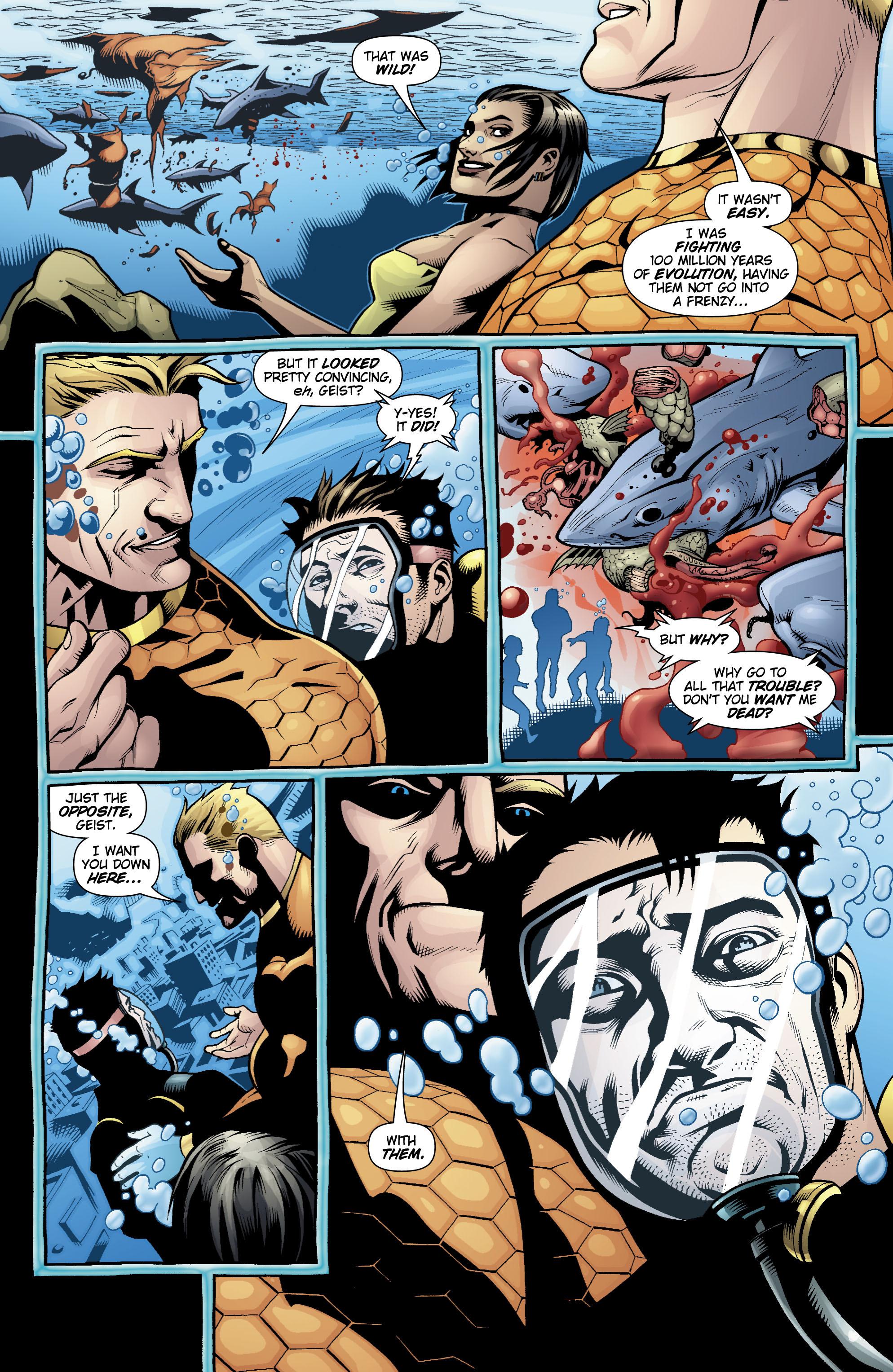 Read online Aquaman (2003) comic -  Issue #20 - 16