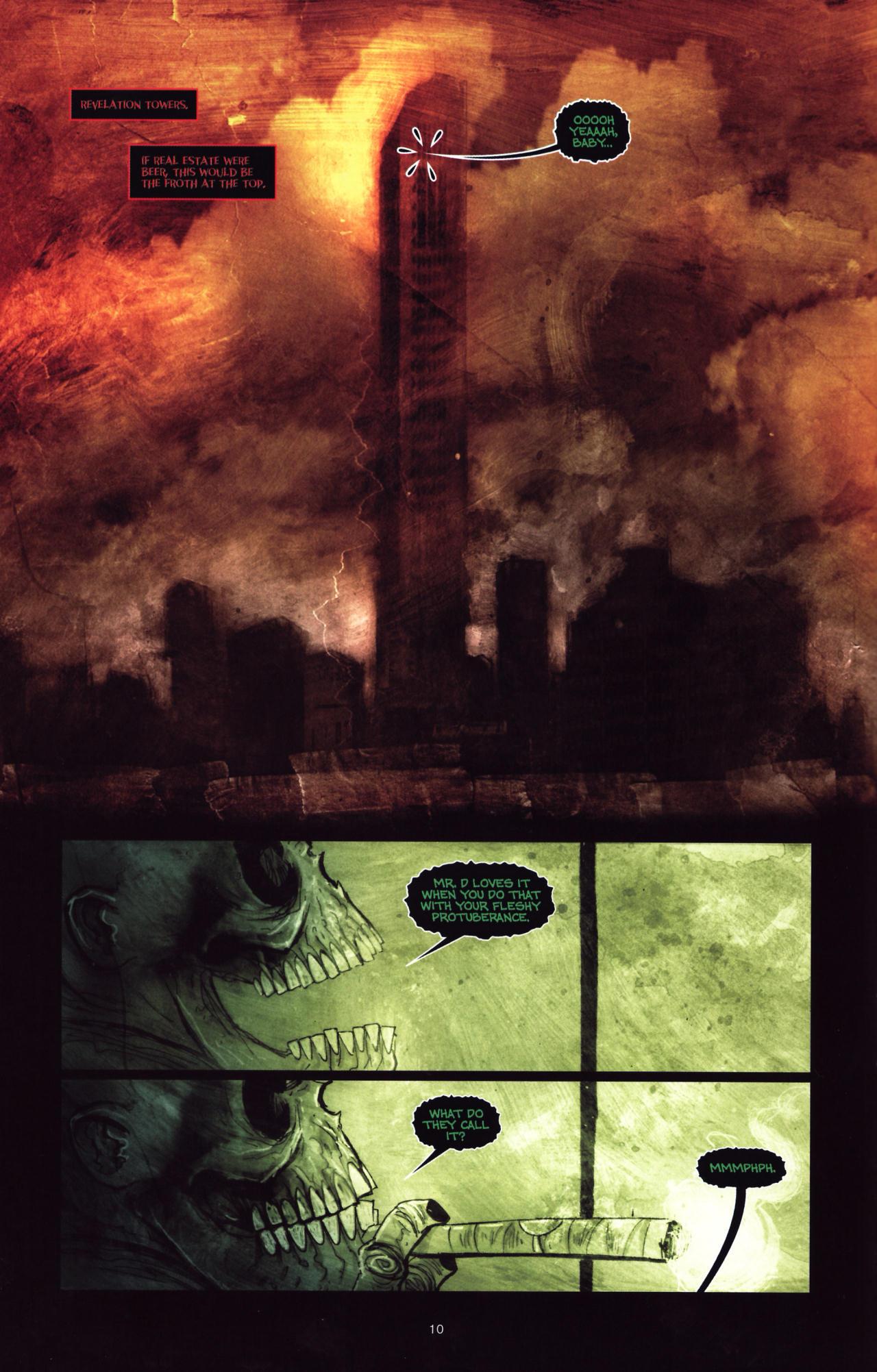 Read online Wormwood: Gentleman Corpse comic -  Issue #8 - 11