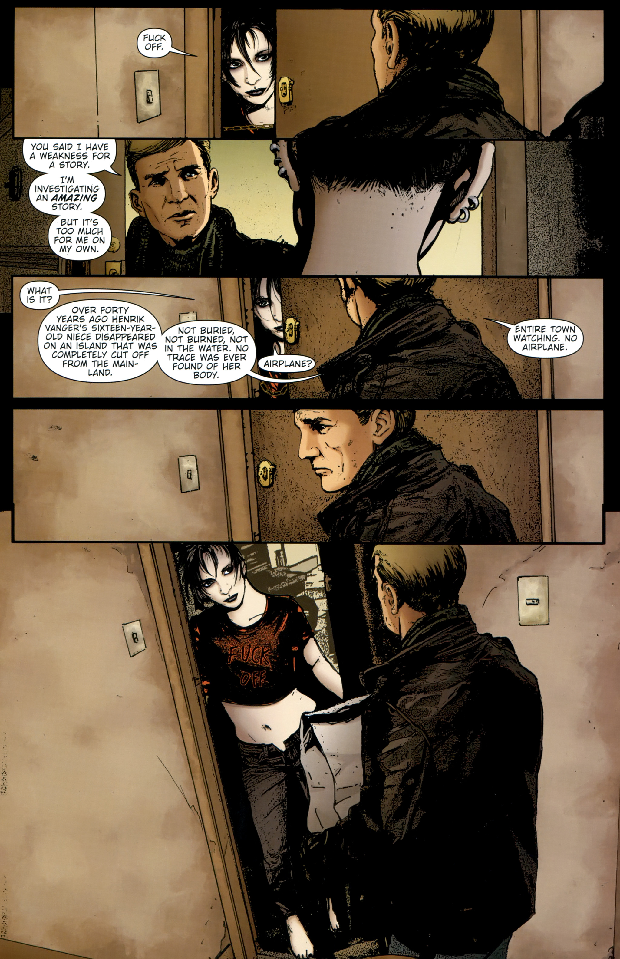 Read online The Girl With the Dragon Tattoo comic -  Issue # TPB 2 - 45