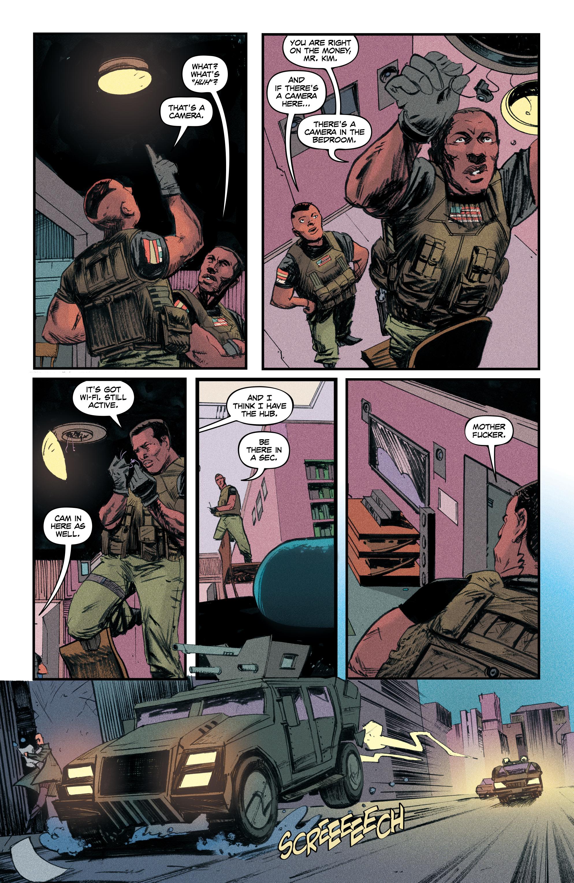 Read online Redline comic -  Issue #4 - 23