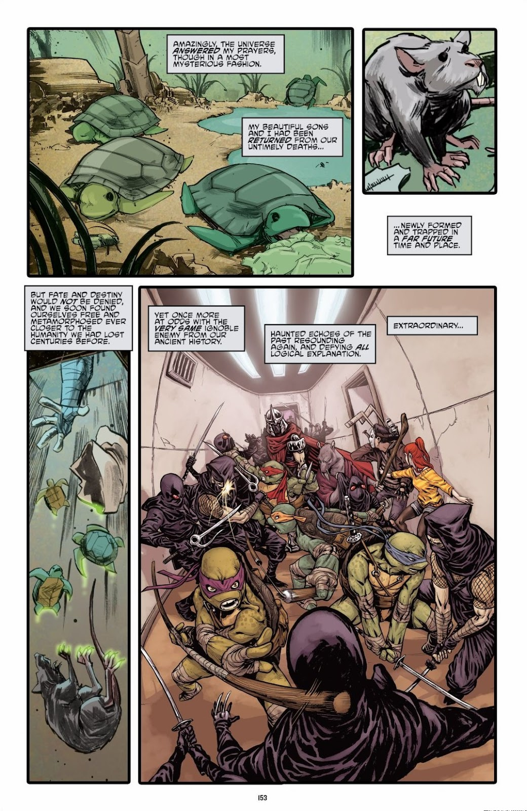 Read online Teenage Mutant Ninja Turtles: The IDW Collection comic -  Issue # TPB 6 (Part 2) - 51
