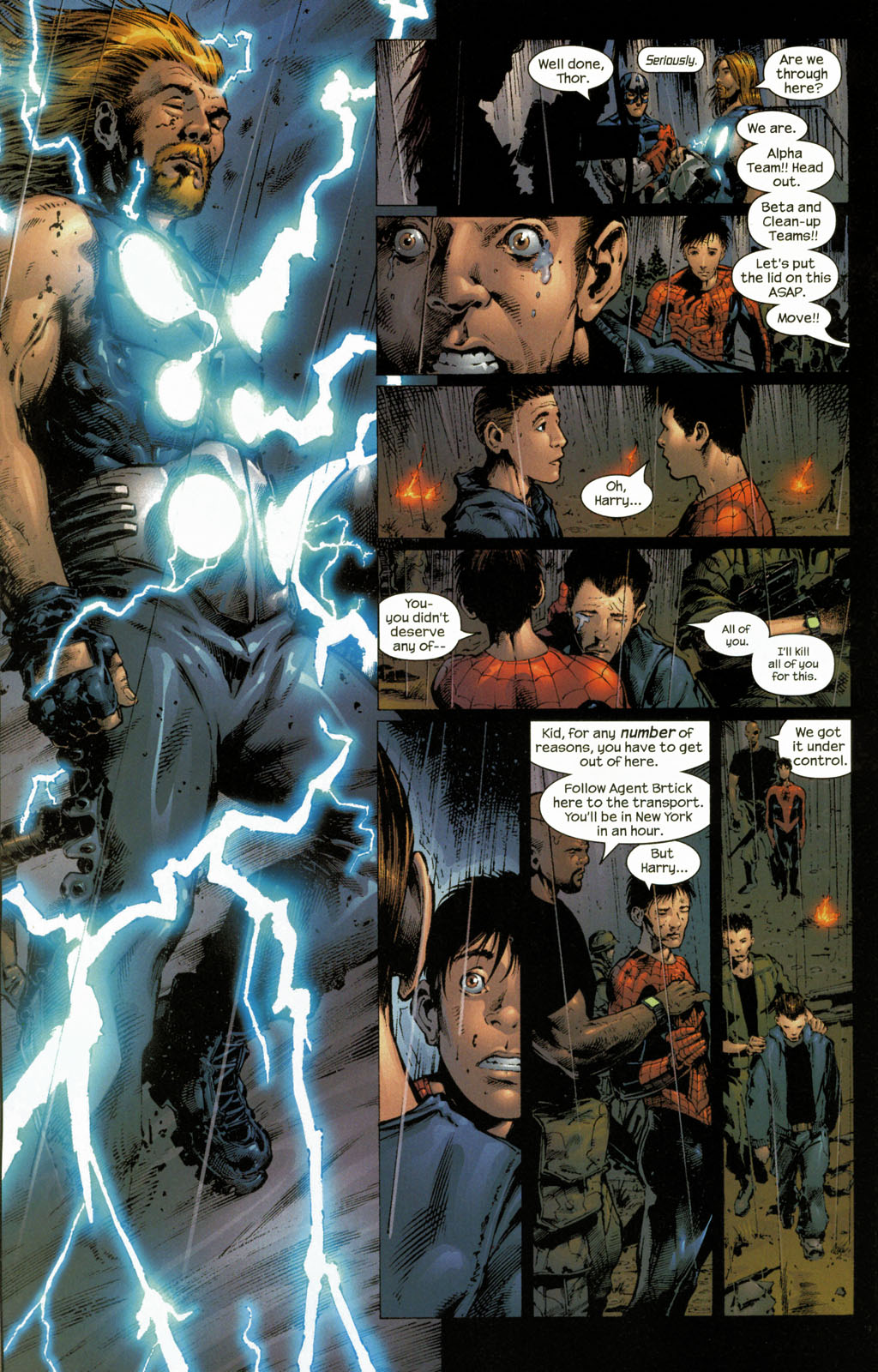 Read online Ultimate Six comic -  Issue #7 - 9