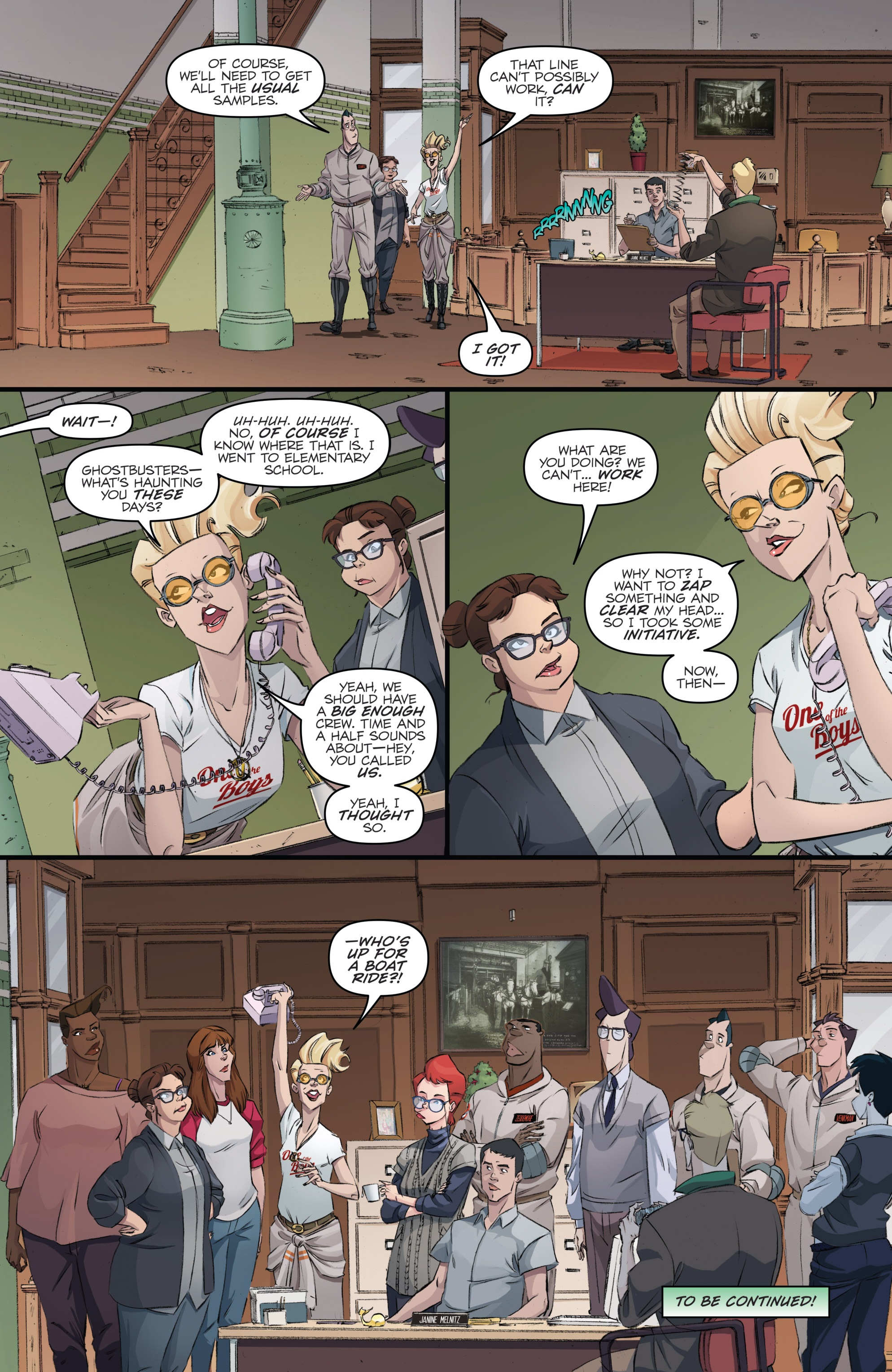 Read online Ghostbusters 101 comic -  Issue #3 - 25
