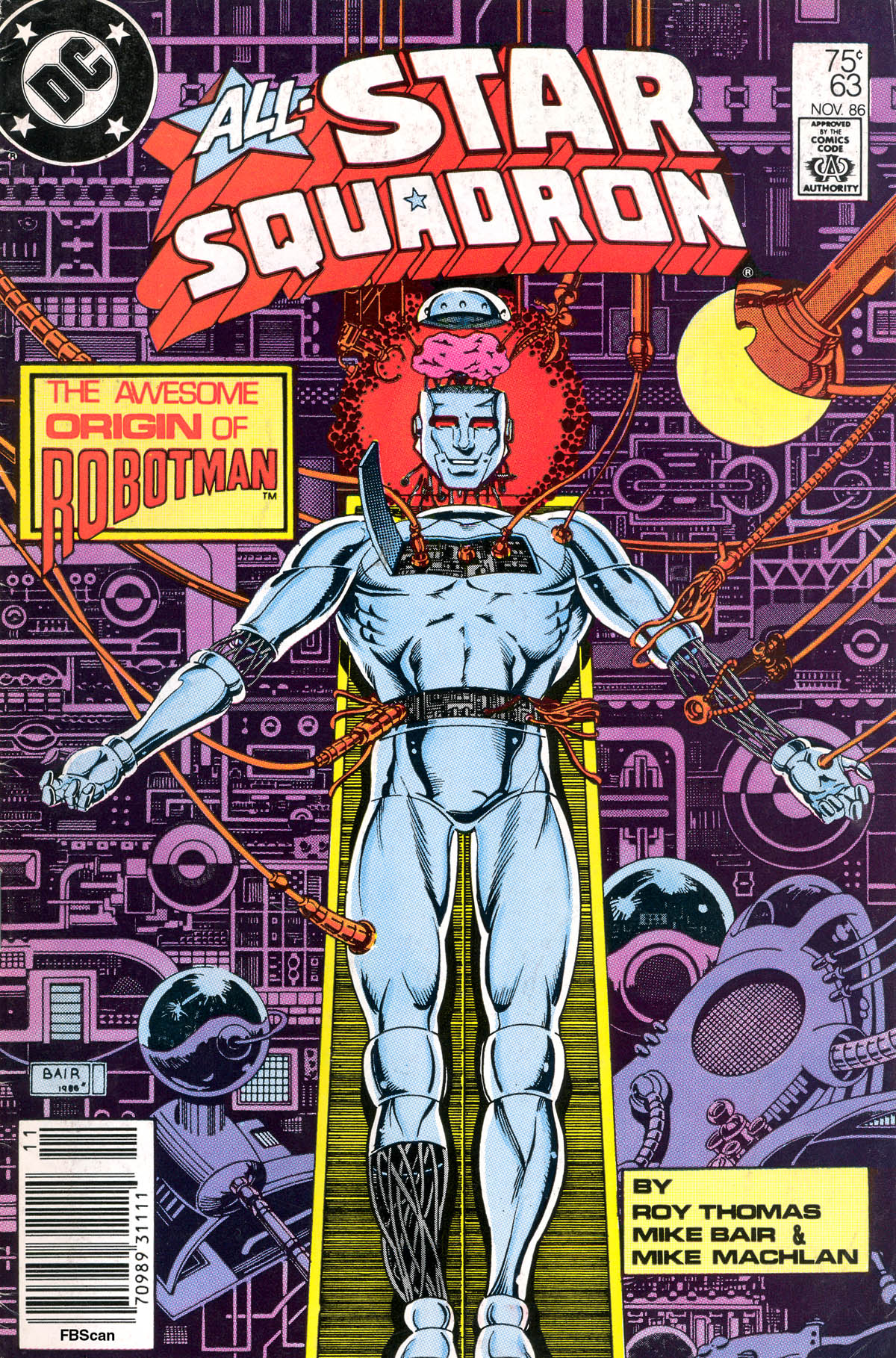Read online All-Star Squadron comic -  Issue #63 - 1
