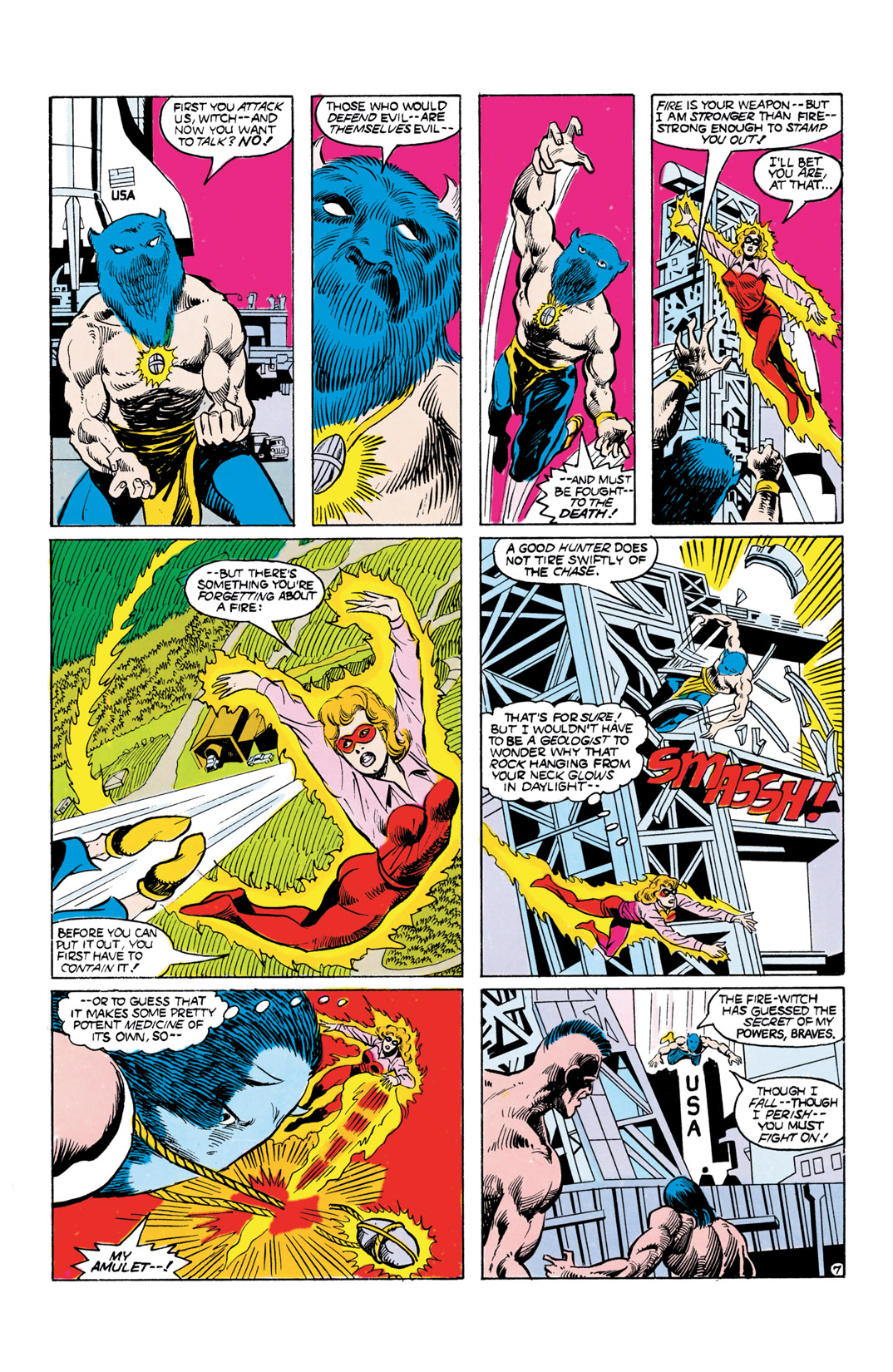 Read online All-Star Squadron comic -  Issue #55 - 8