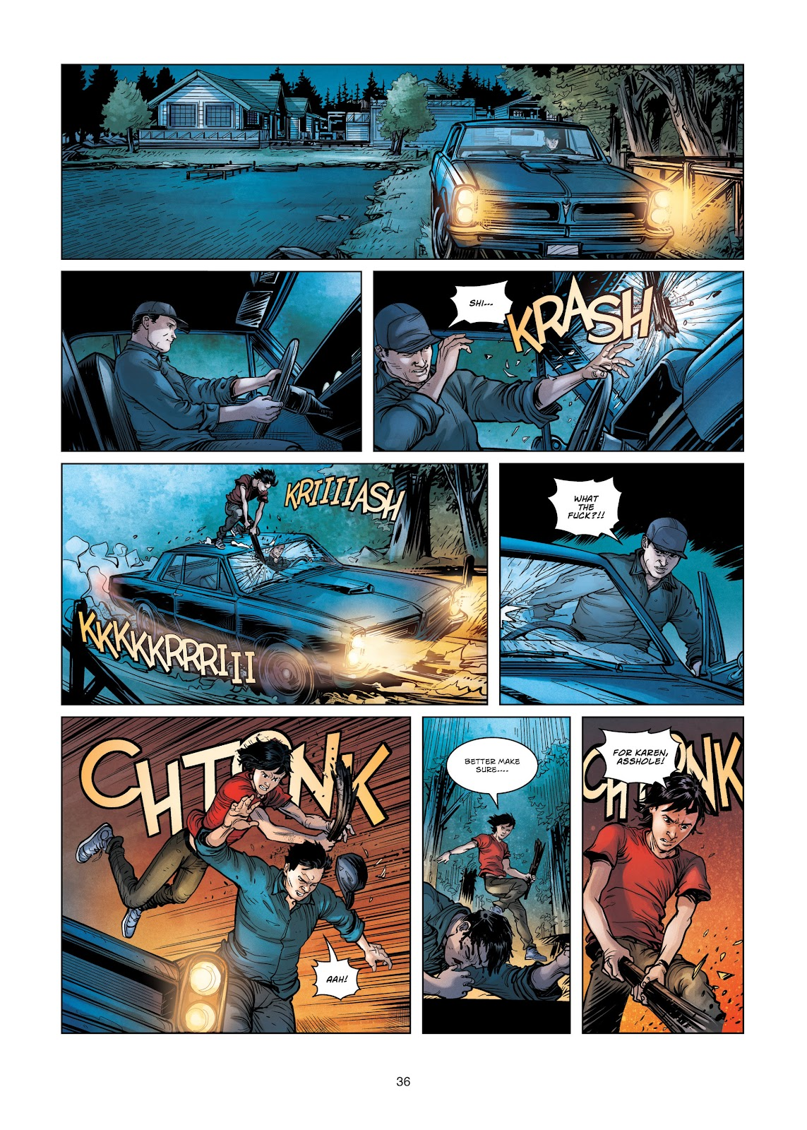 Read online Vigilantes comic -  Issue #3 - 36