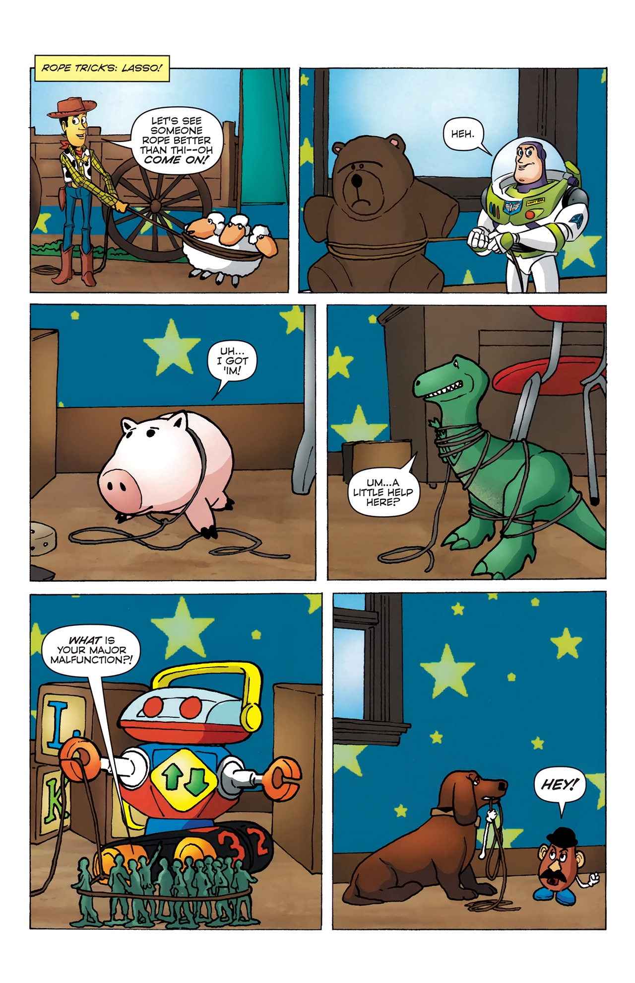Read online Toy Story (2009) comic -  Issue #4 - 19