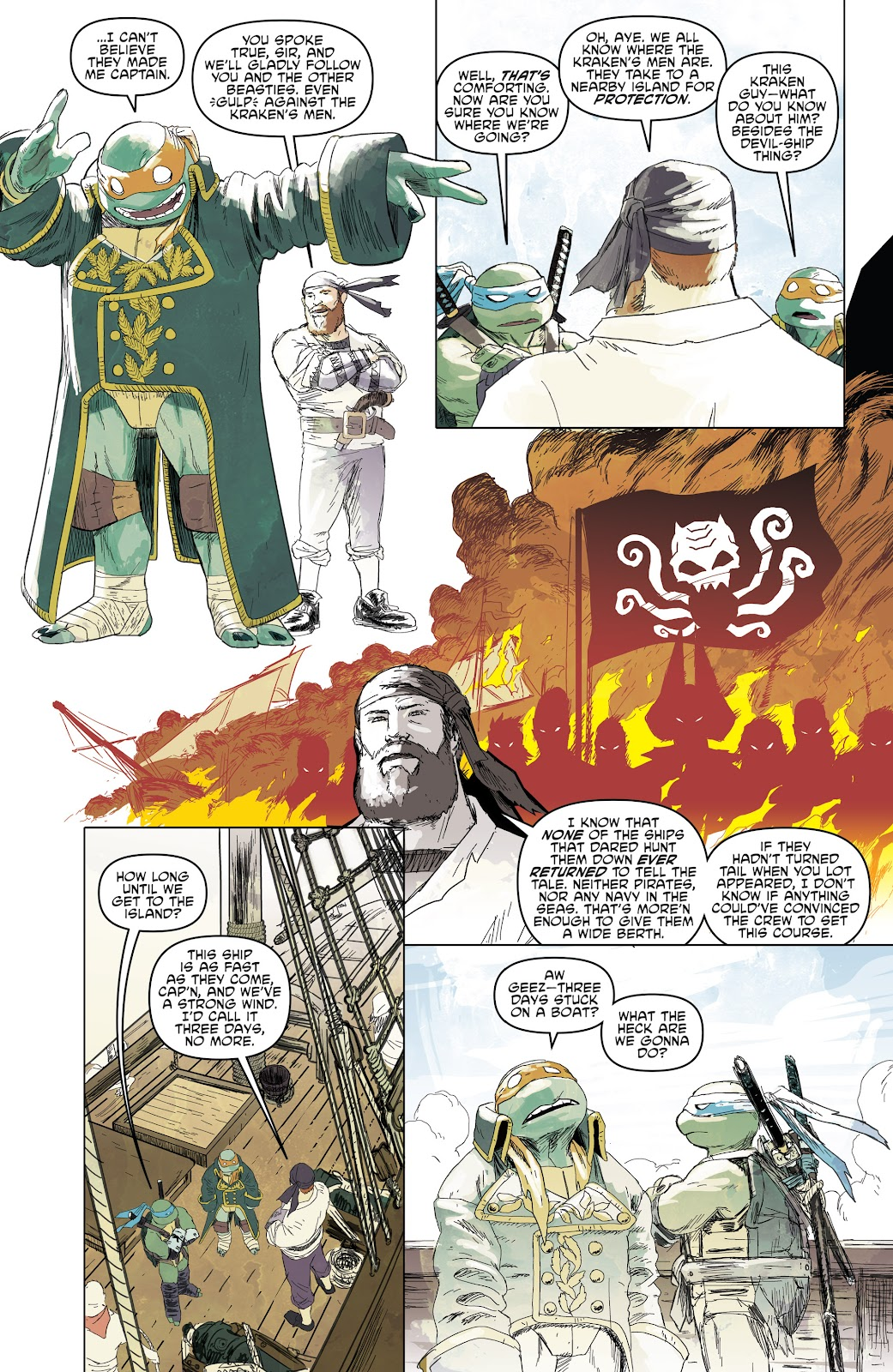 Read online Teenage Mutant Ninja Turtles: The IDW Collection comic -  Issue # TPB 5 (Part 1) - 60
