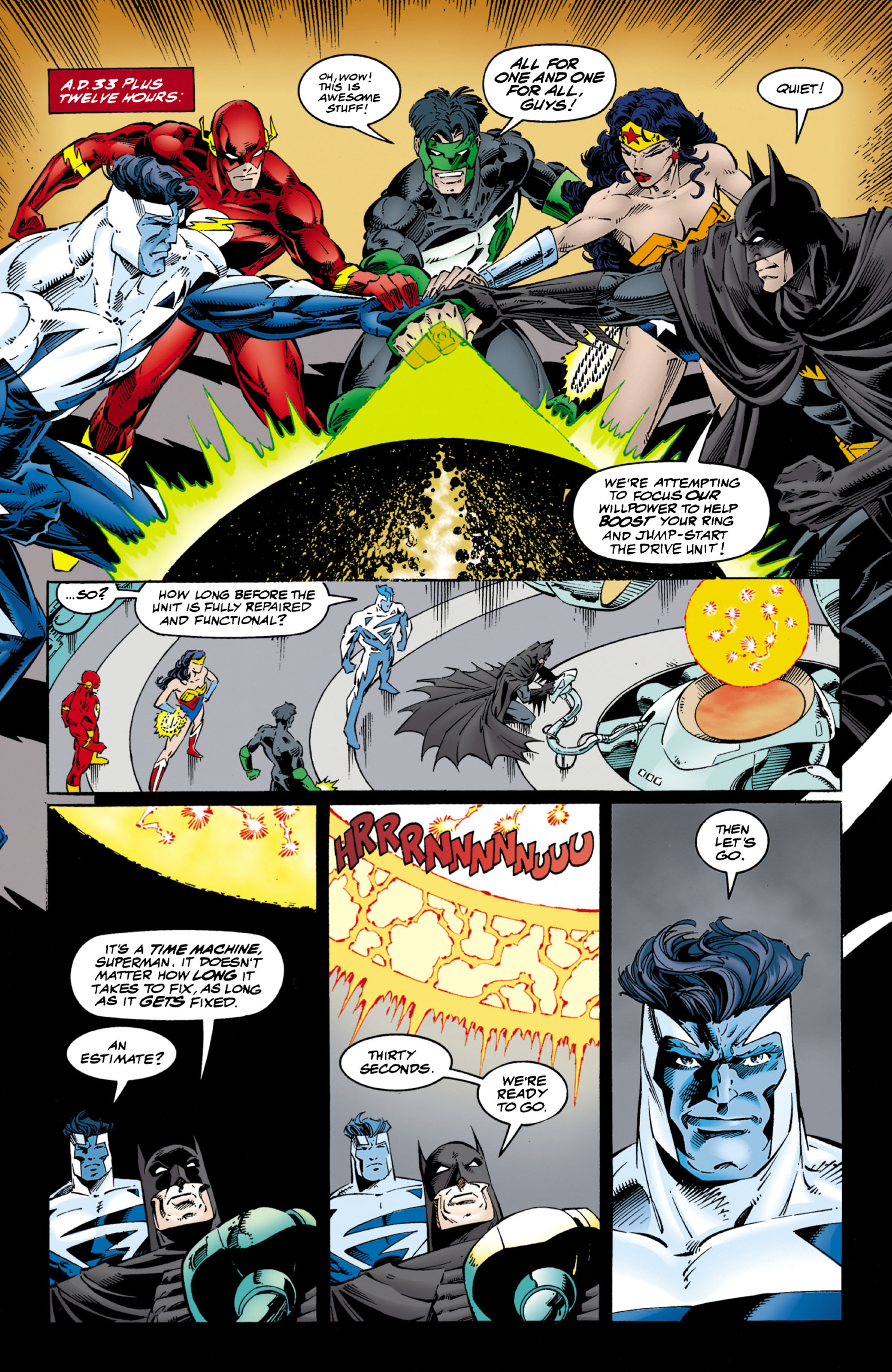 Read online JLA/WildC.A.T.s comic -  Issue # Full - 14