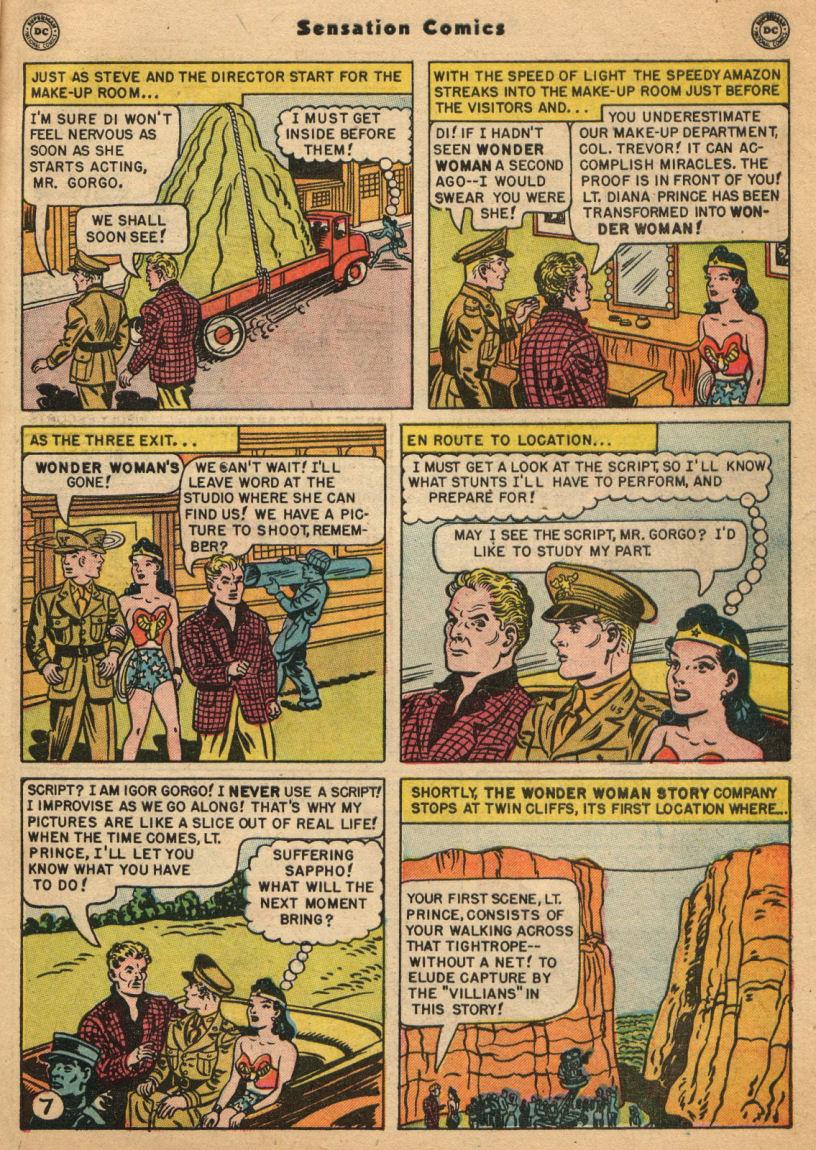Read online Sensation (Mystery) Comics comic -  Issue #100 - 9