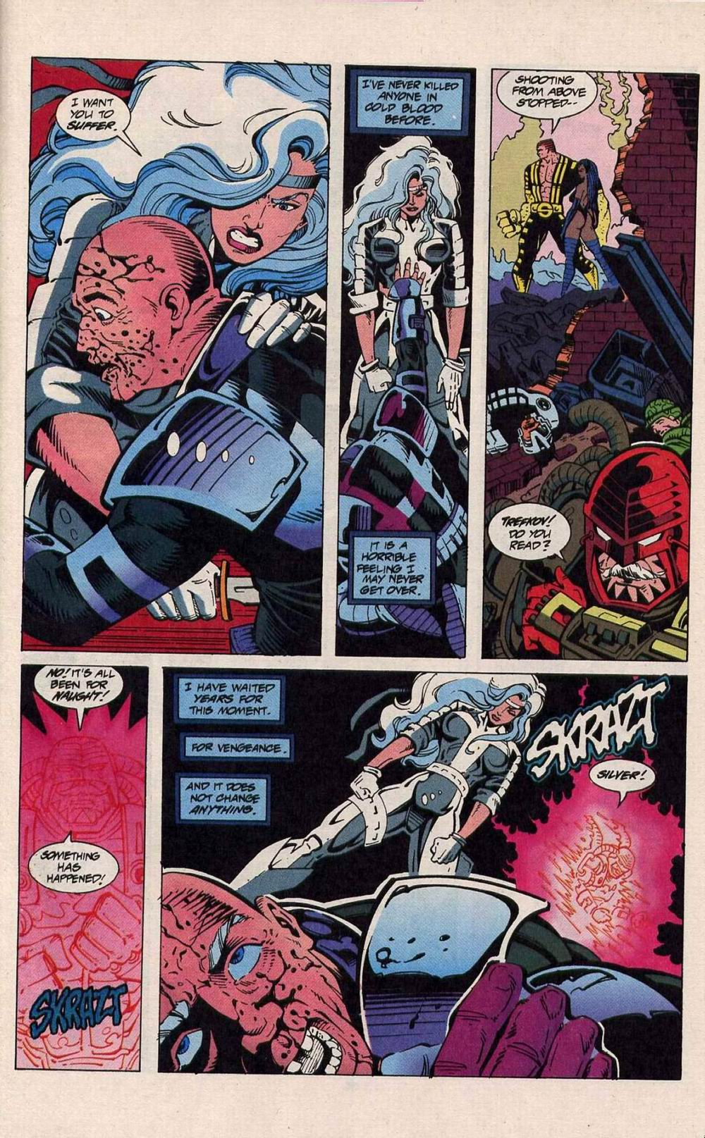 Read online Silver Sable and the Wild Pack comic -  Issue #25 - 28