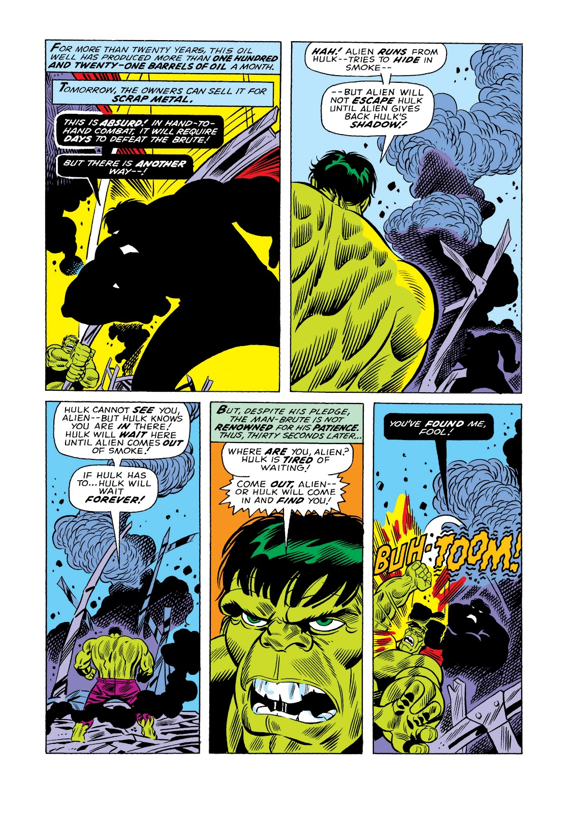 Read online Marvel Masterworks: The Incredible Hulk comic -  Issue # TPB 11 (Part 1) - 22
