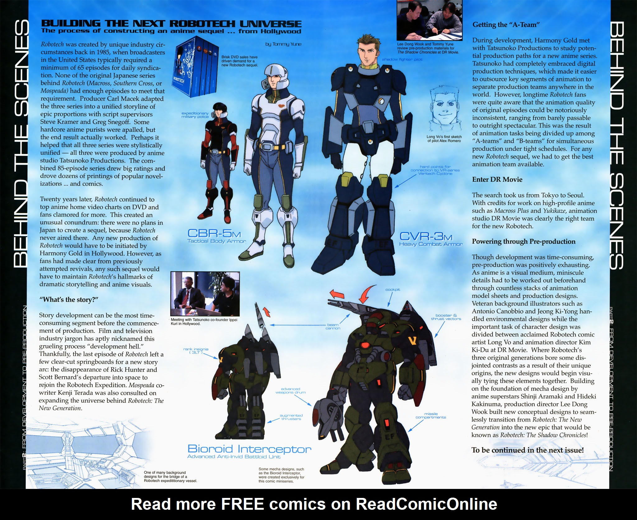 Read online Robotech: Prelude to the Shadow Chronicles comic -  Issue #3 - 21