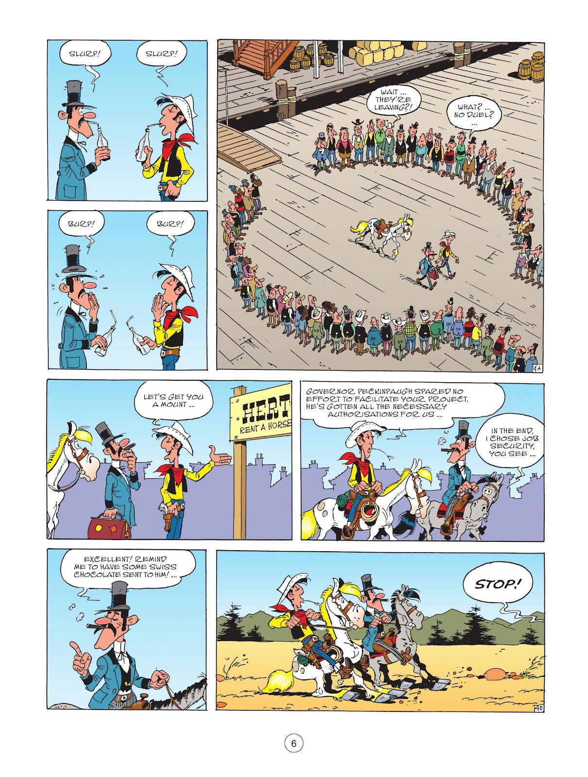 A Lucky Luke Adventure issue 72 - Page 8