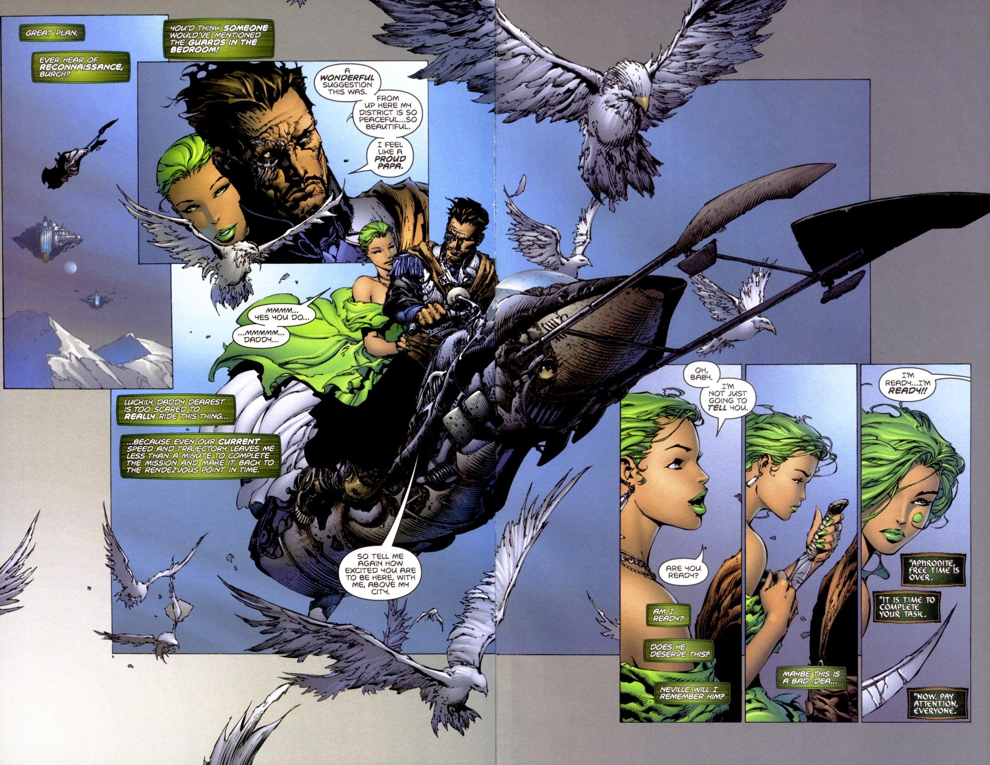 Read online Aphrodite IX (2000) comic -  Issue #1 - 20