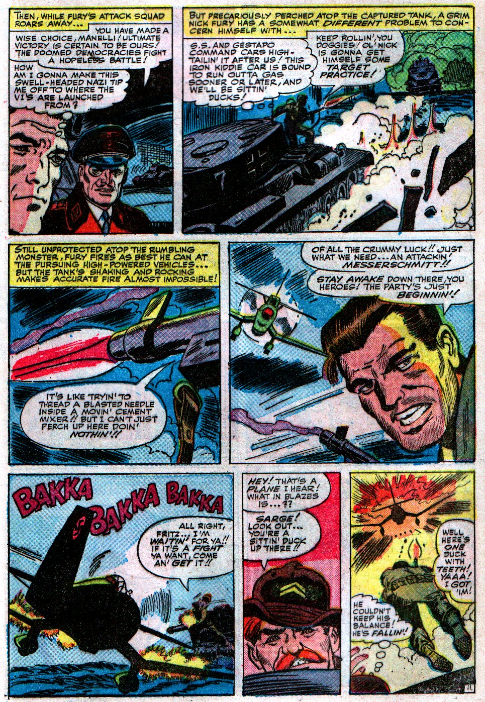 Read online Sgt. Fury comic -  Issue #12 - 17
